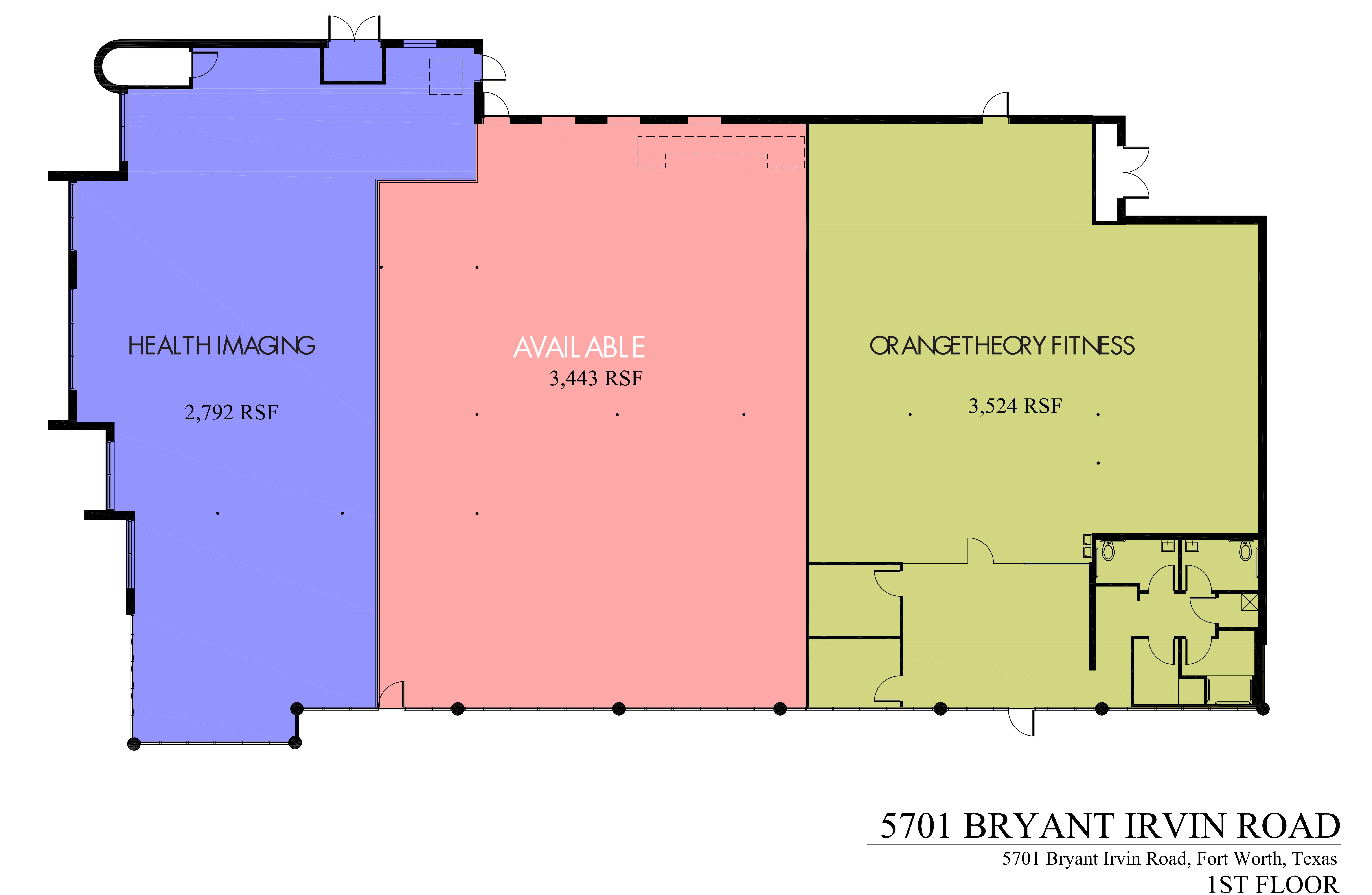 Oakbend Retail: site plan