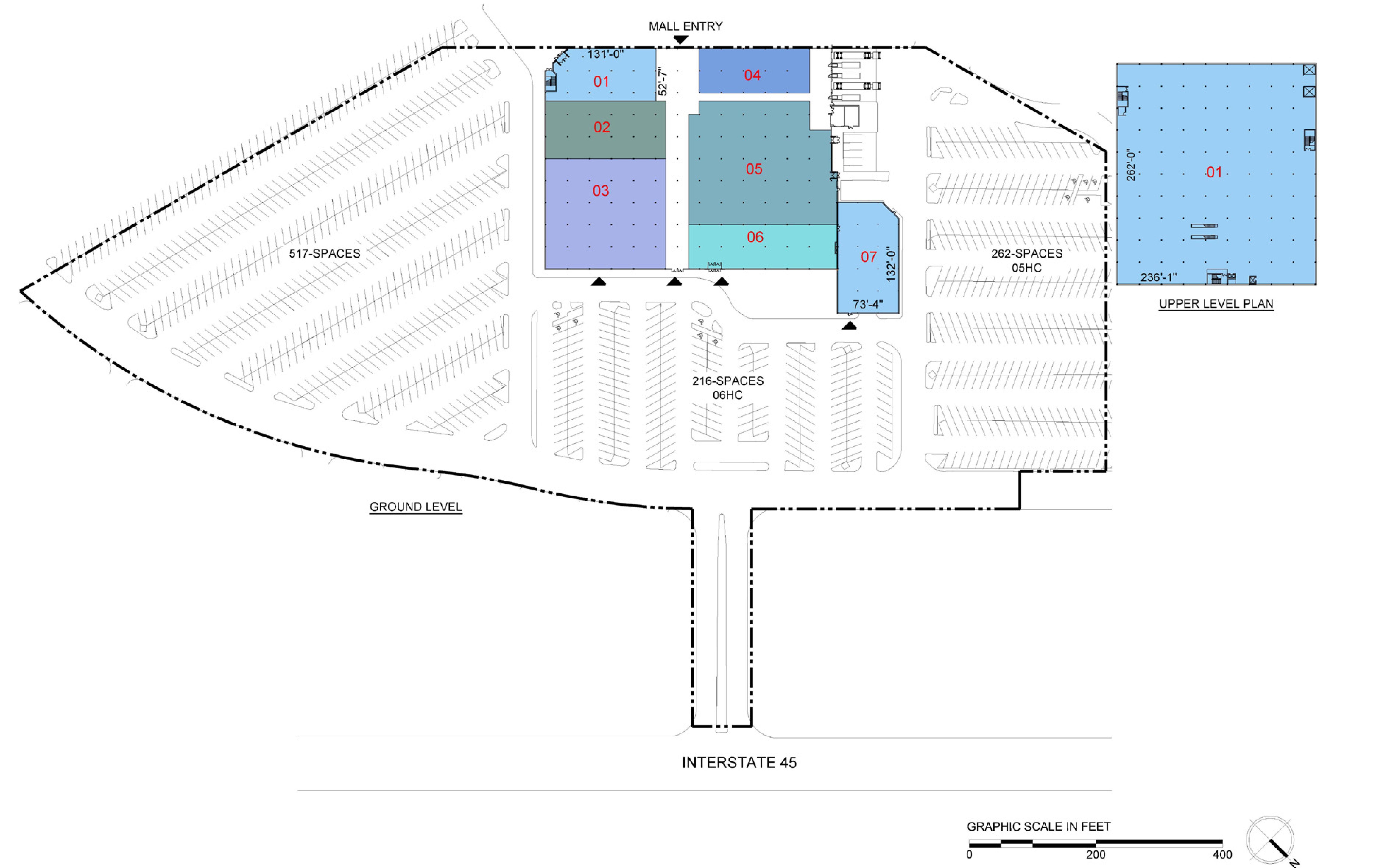 Baybrook Mall: site plan