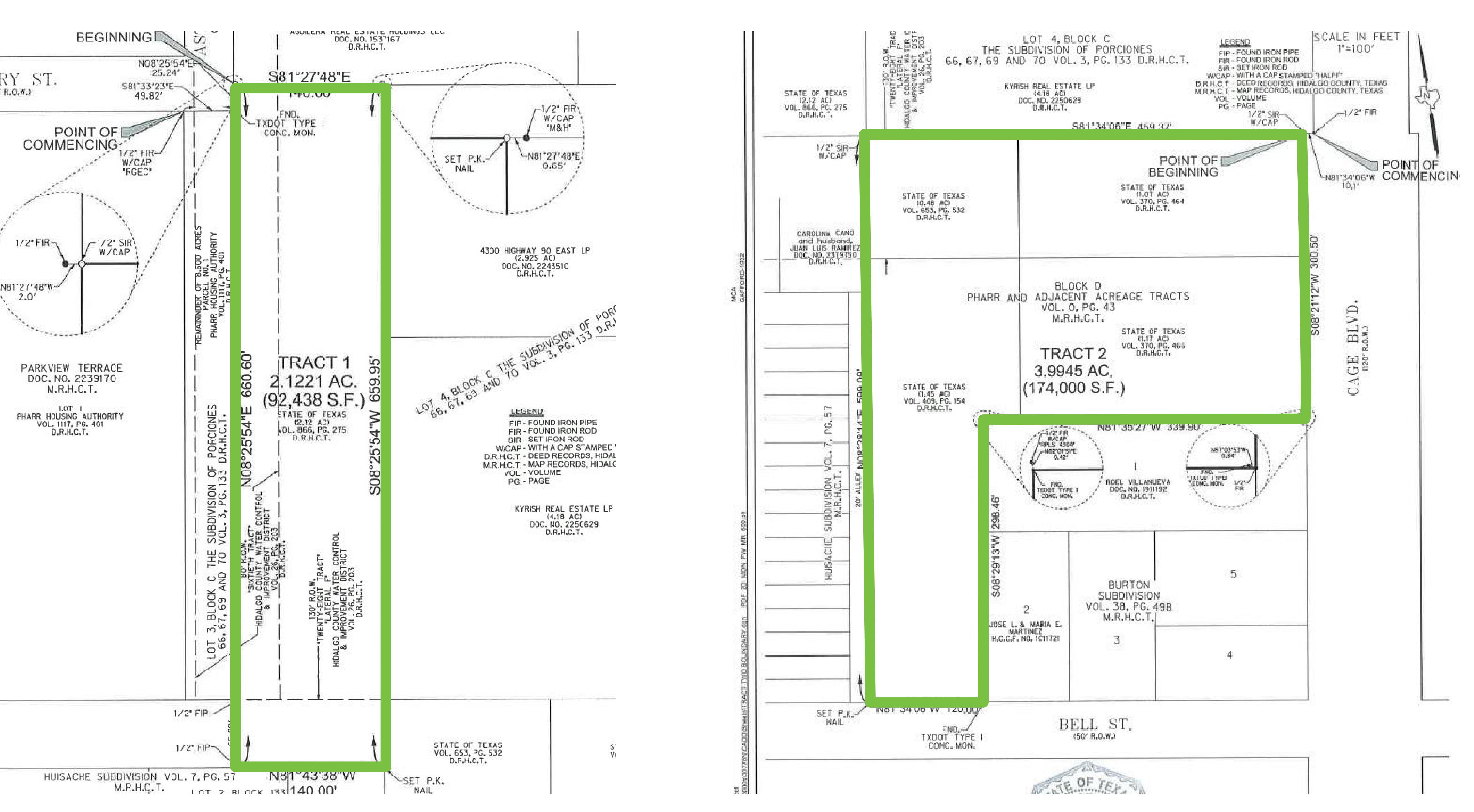 623 N Cage Blvd: site plan