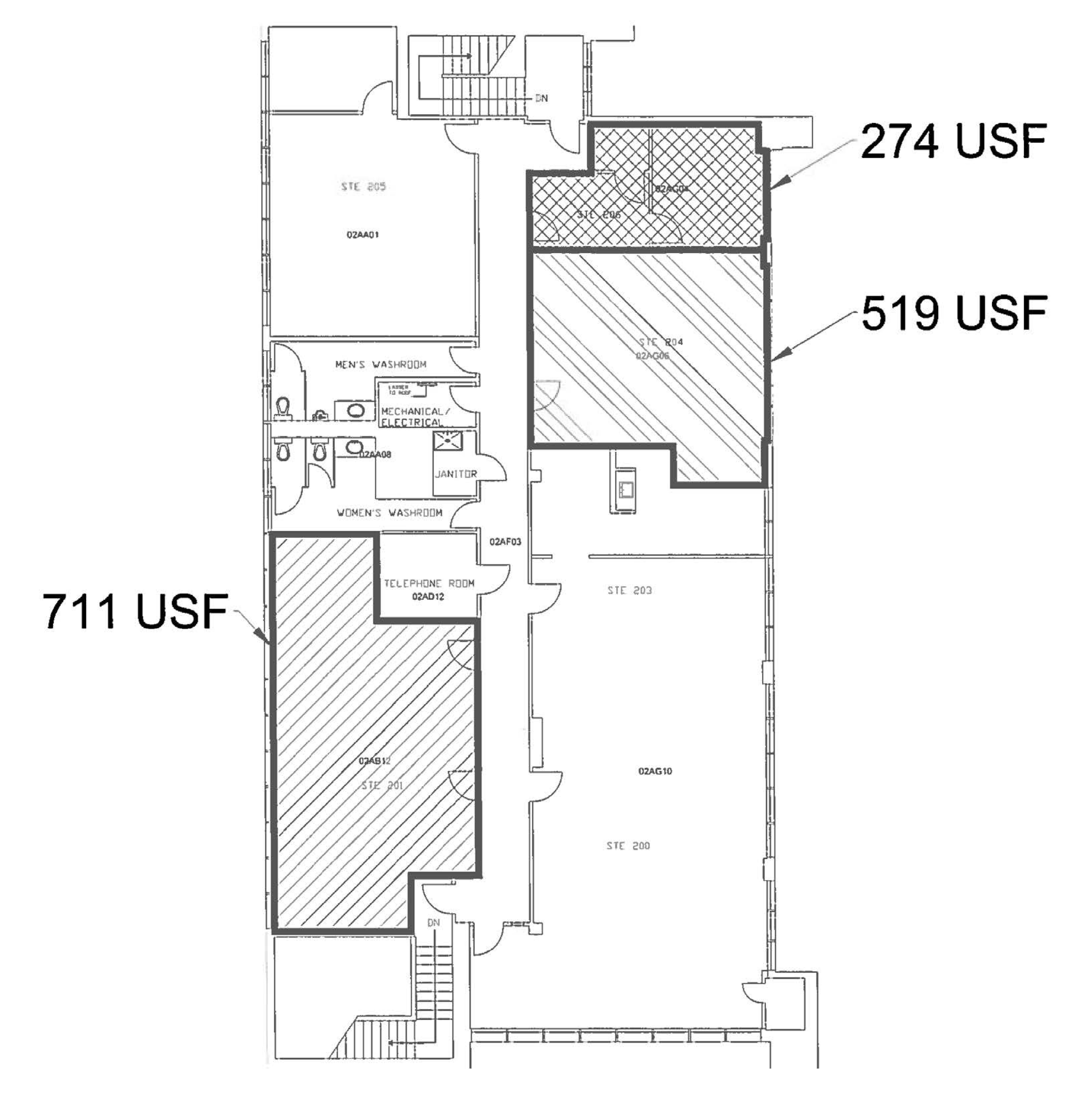 3431 Hwy 66: site plan
