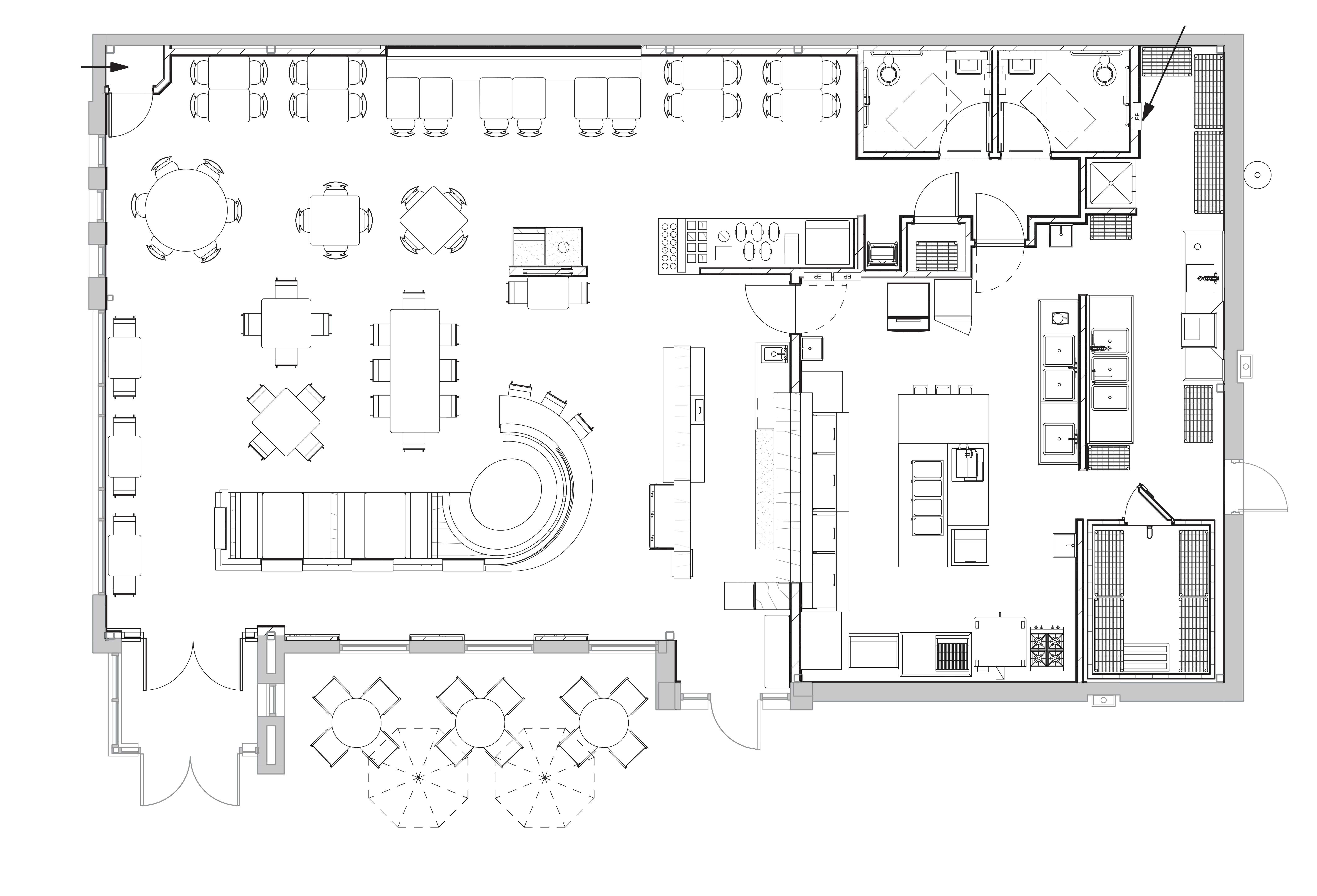 613 W Lancaster Avenue: site plan