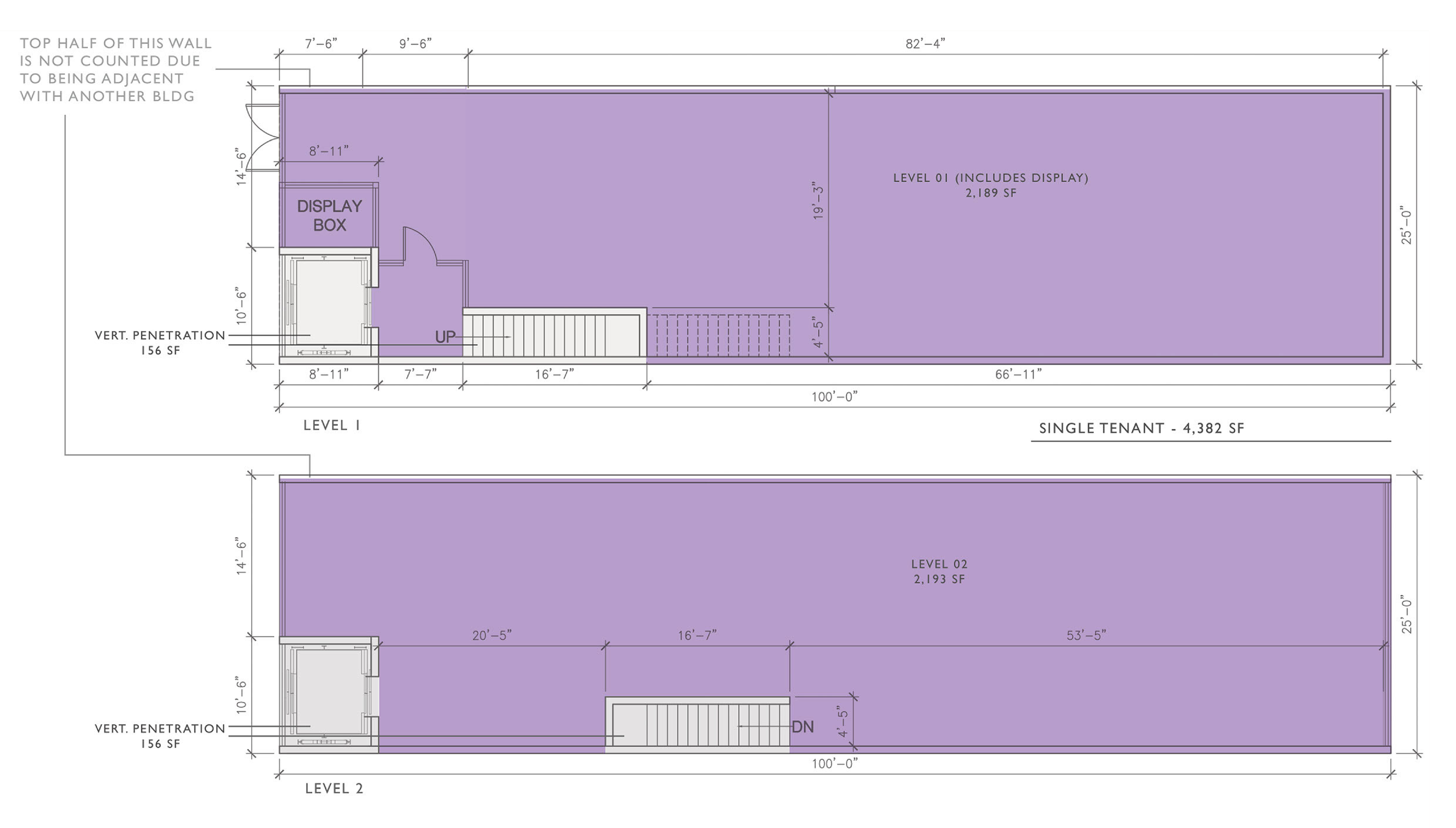 1519 Main St: site plan
