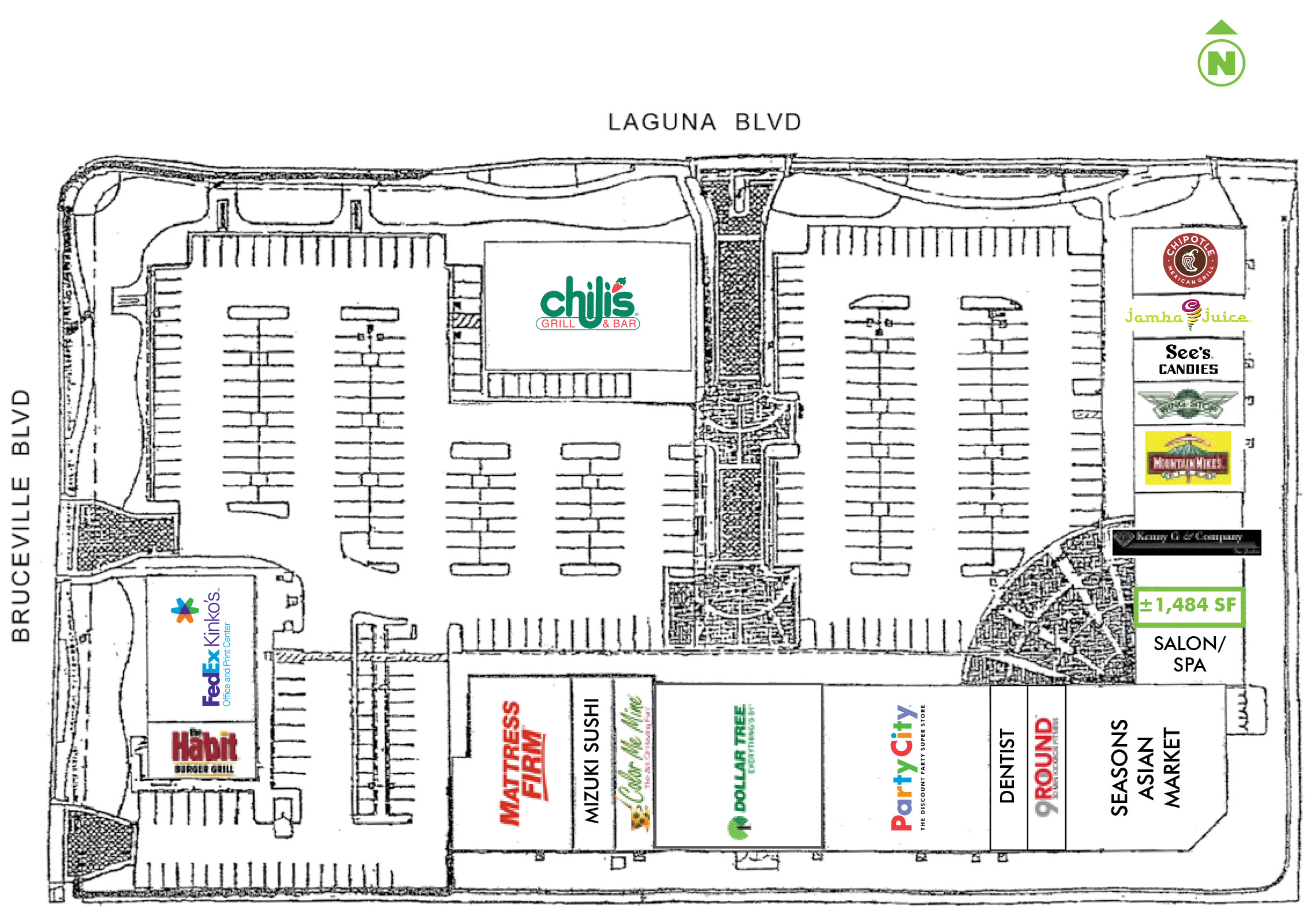 Laguna Pavilion: site plan