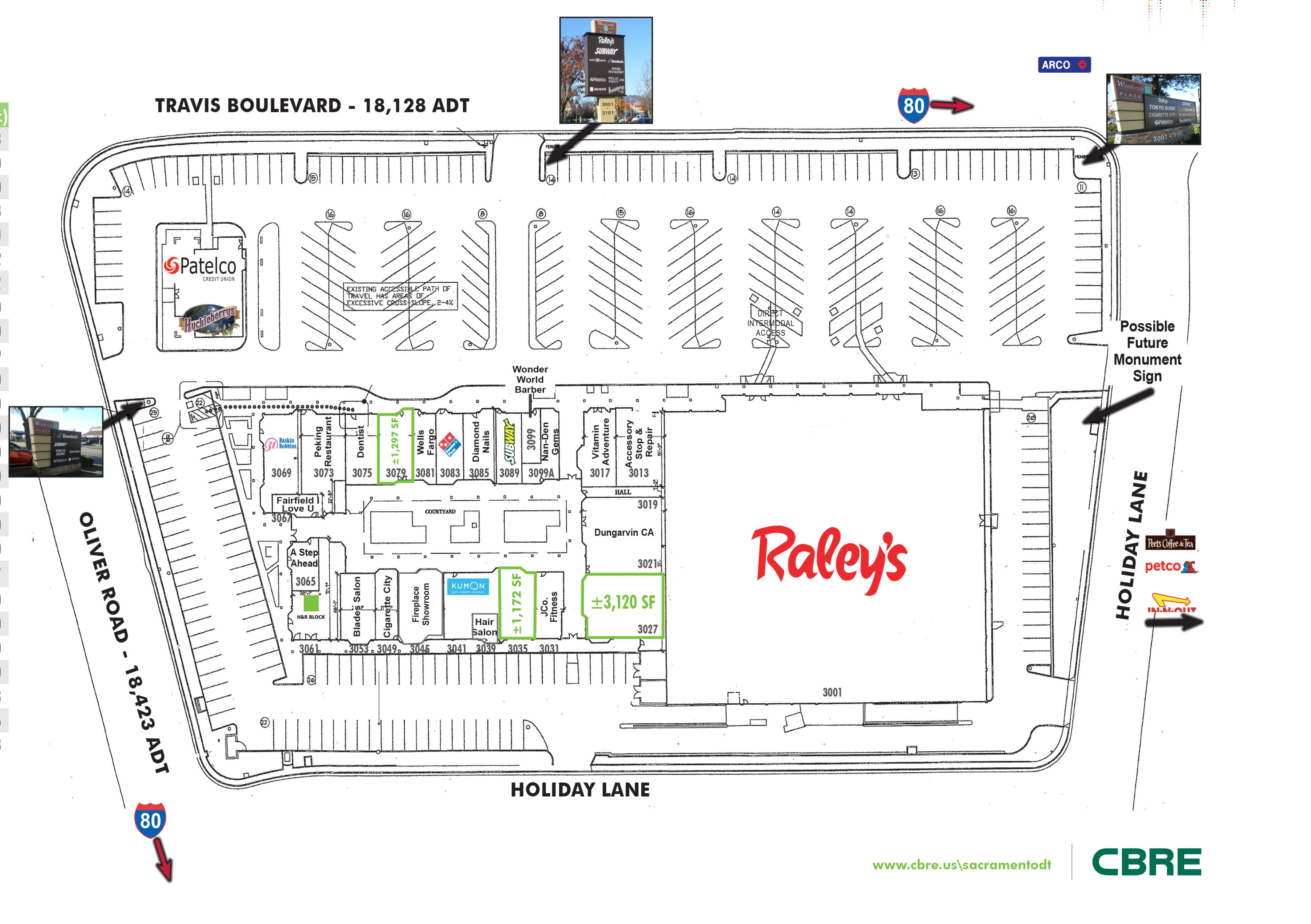 Woodcreek Plaza: site plan