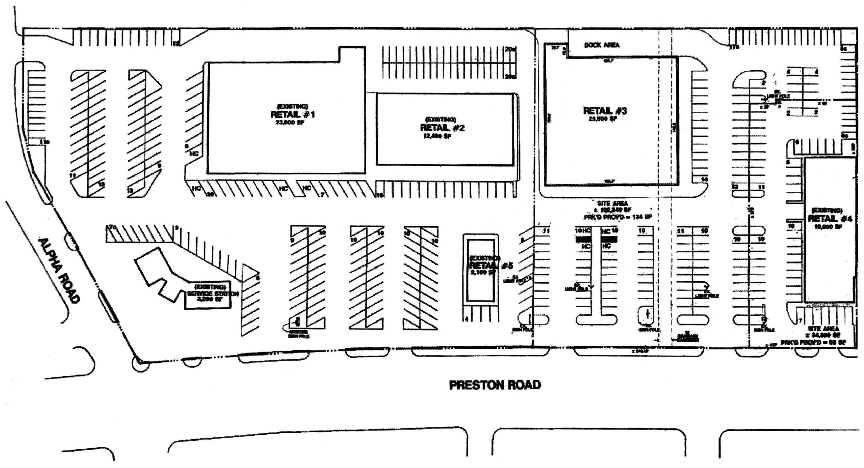 Preston at Alpha: site plan