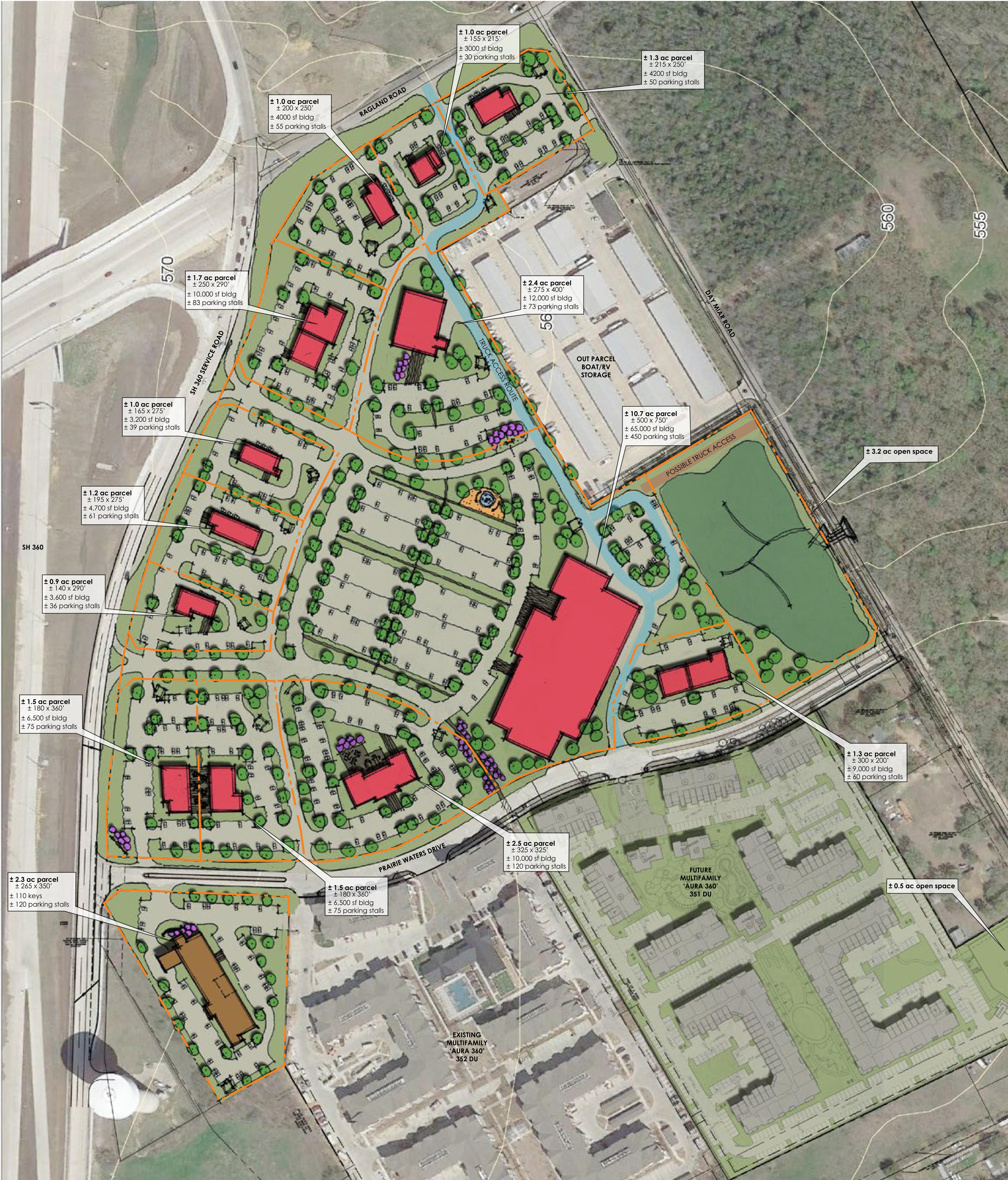 Southgate: site plan