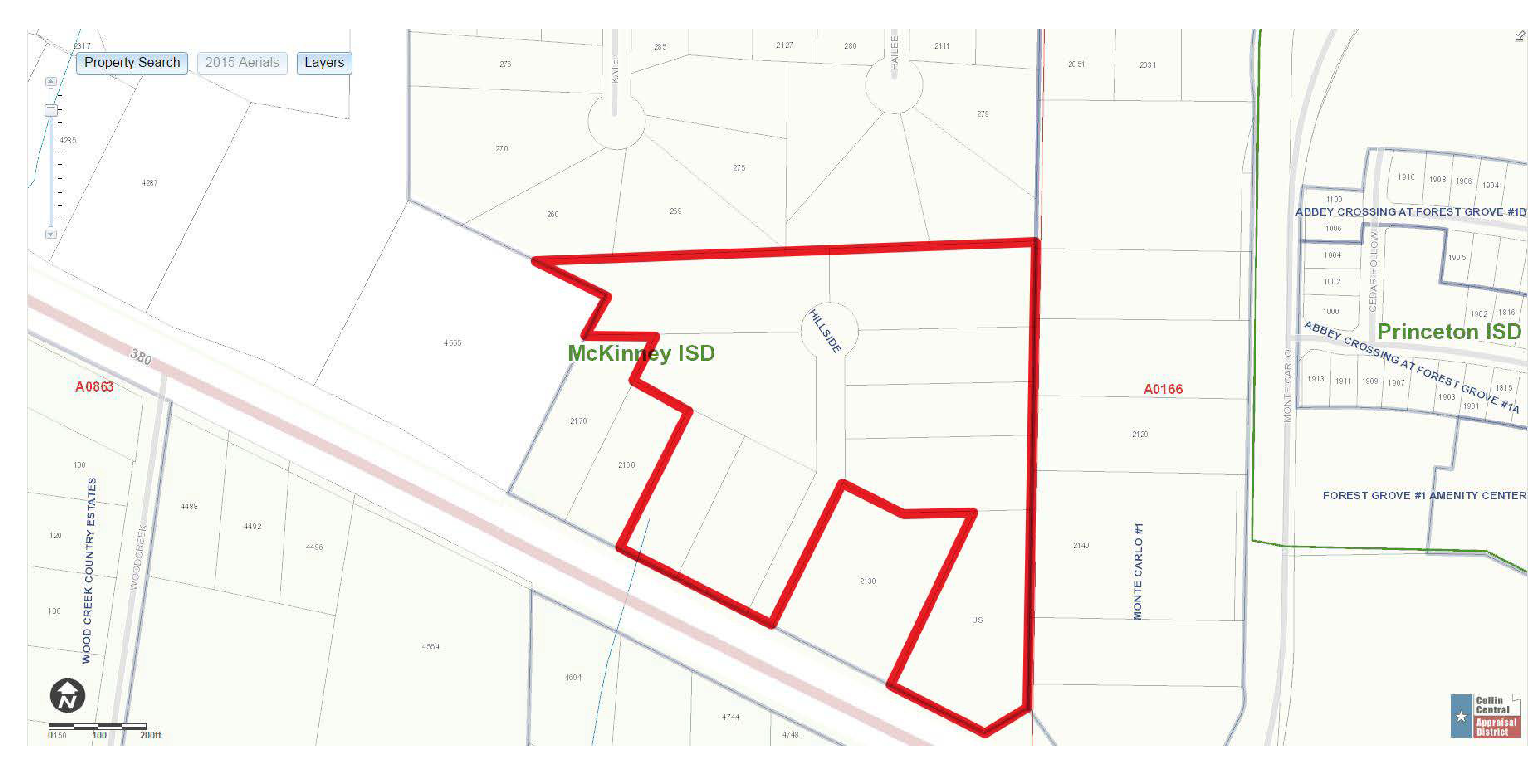 14.48 Acres – US 380: site plan