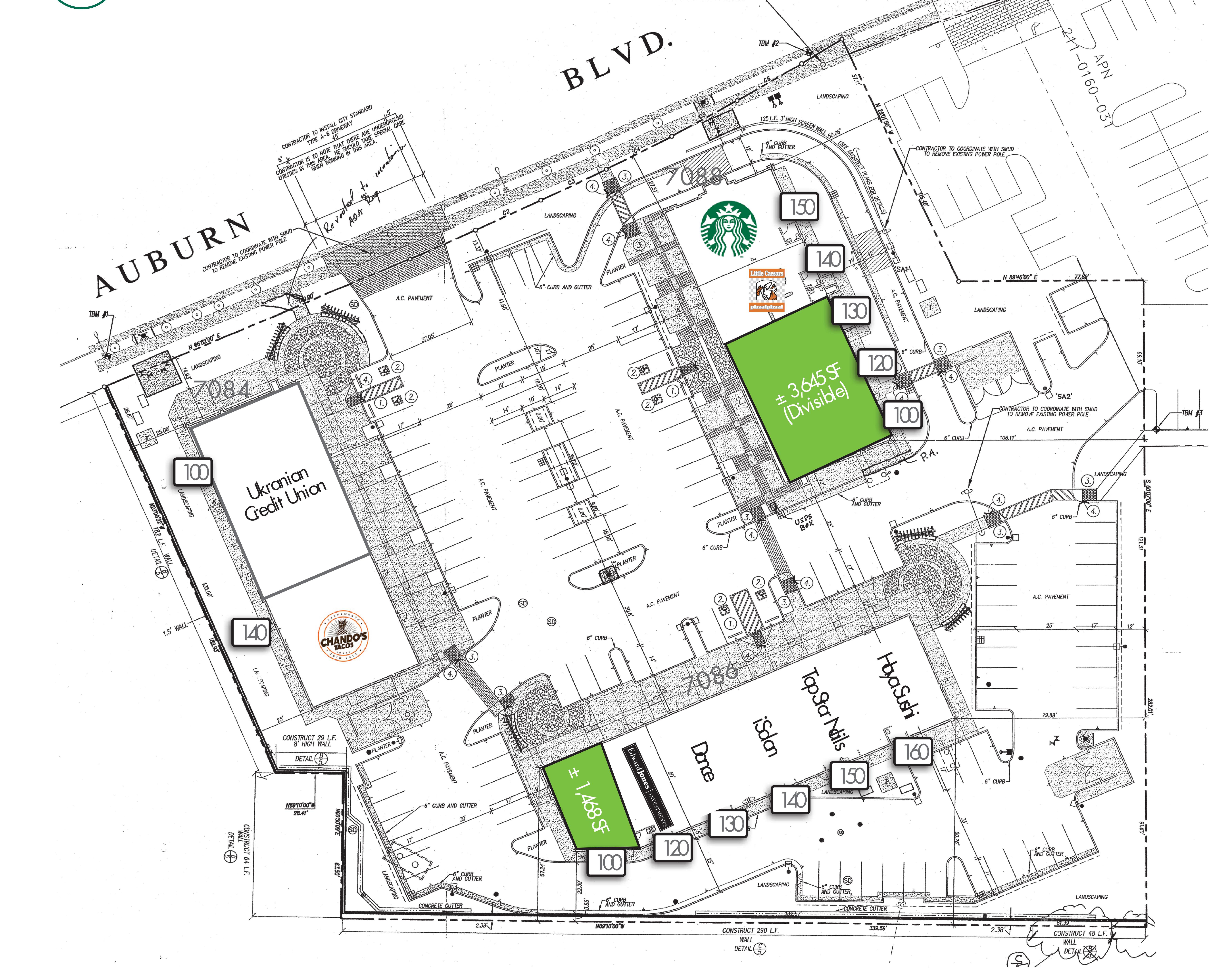 Sylvan Marketplace: site plan