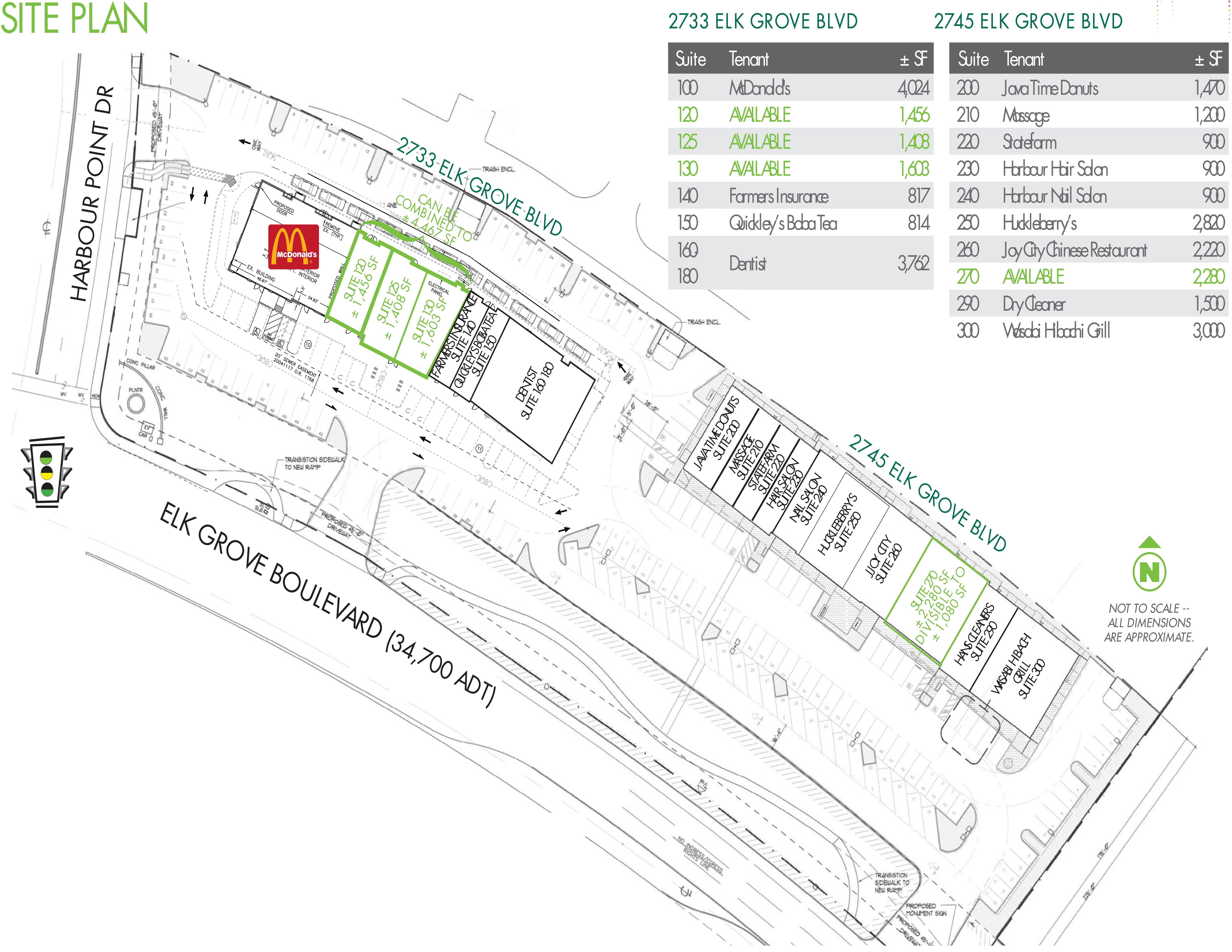 Harbour Cove: site plan