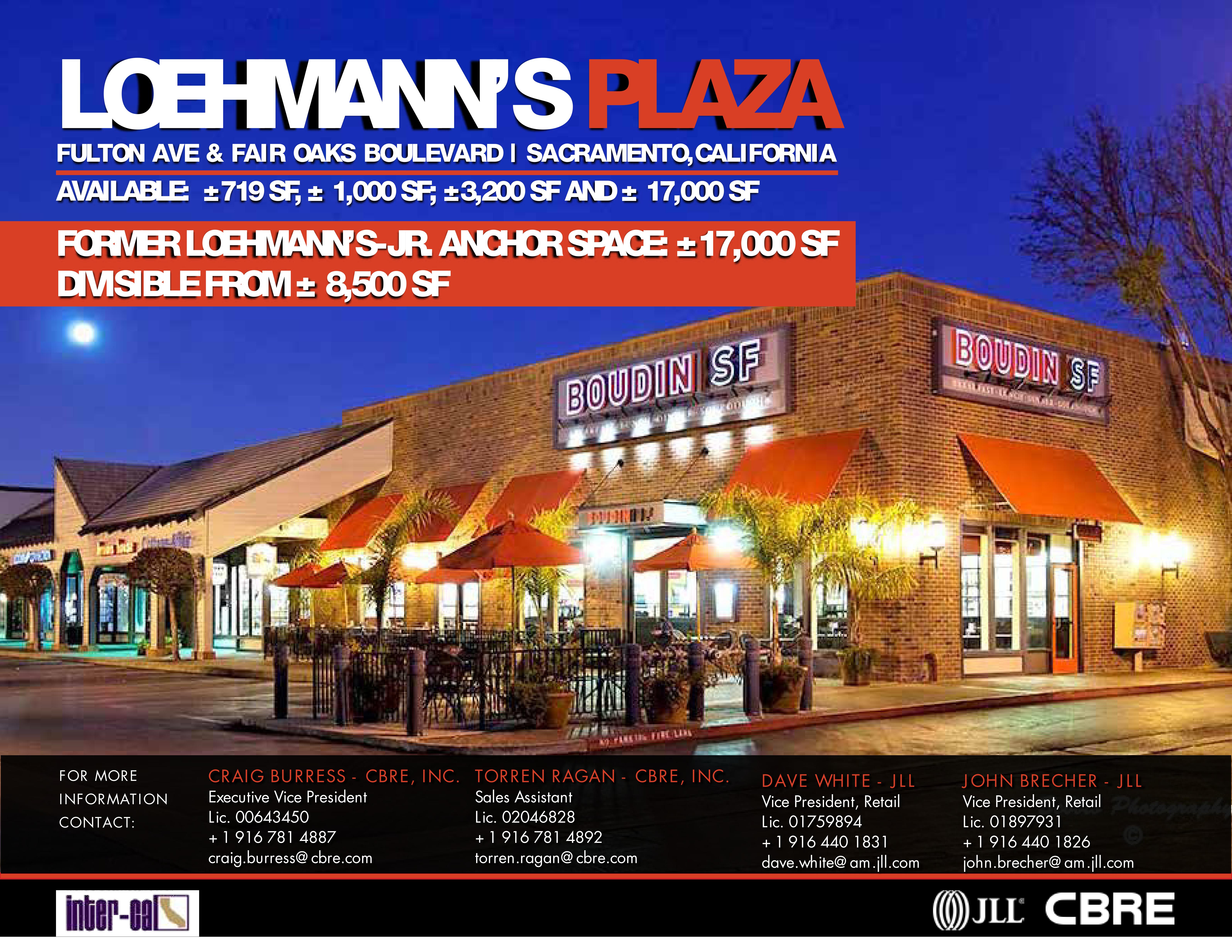 Loehmann's Plaza: site plan