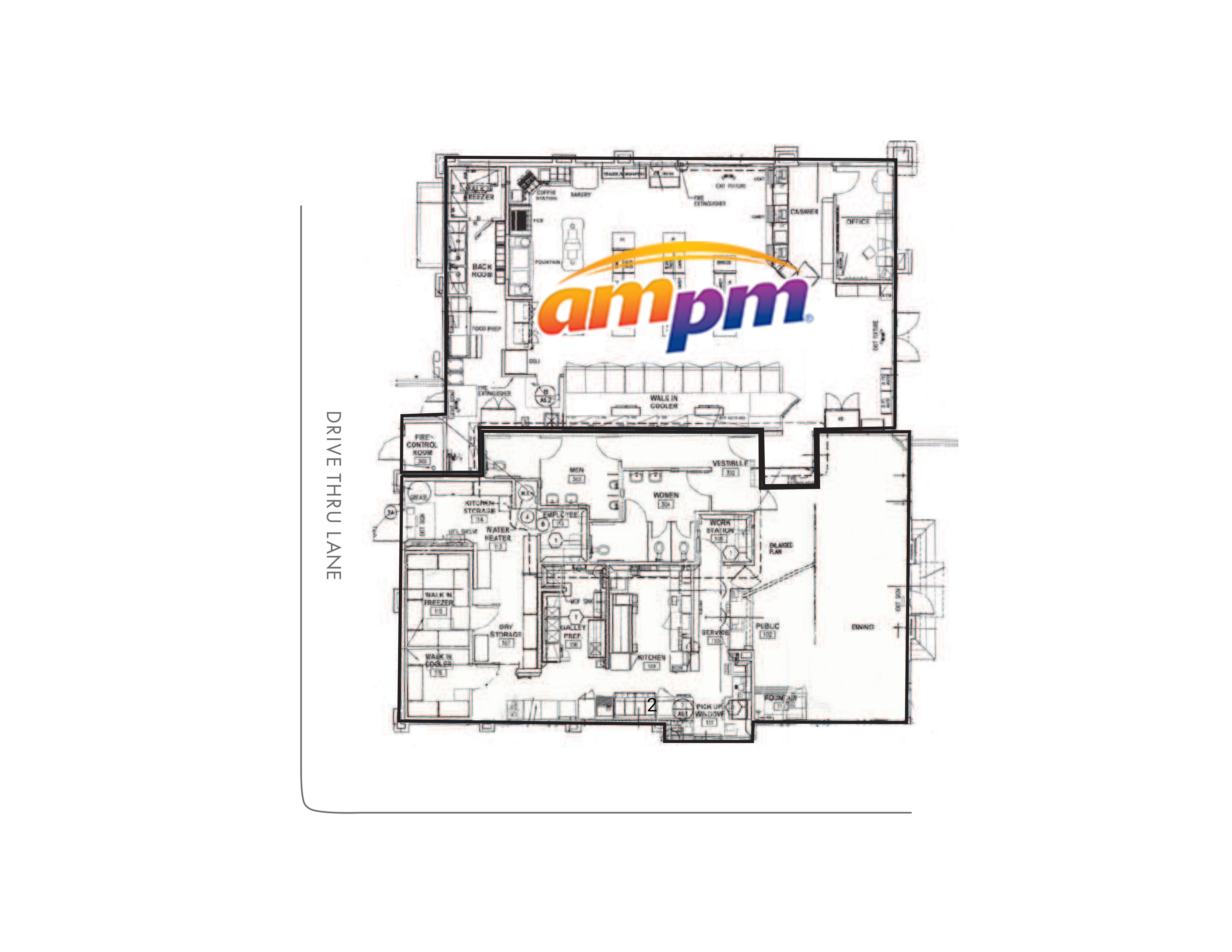 2990 Foothills Boulevard: site plan