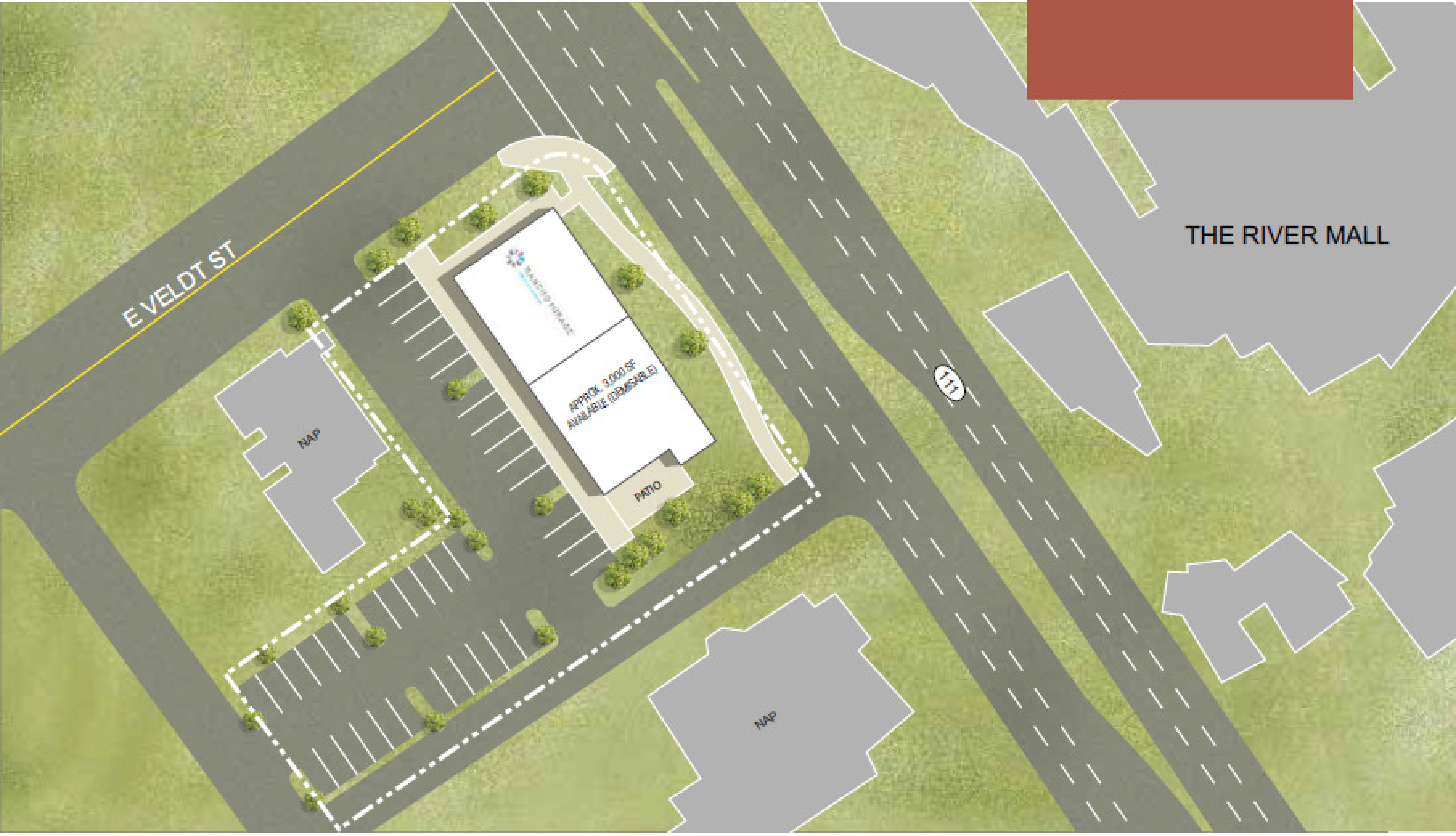 Rancho Mirage-Hwy 111 & Veldt St: site plan