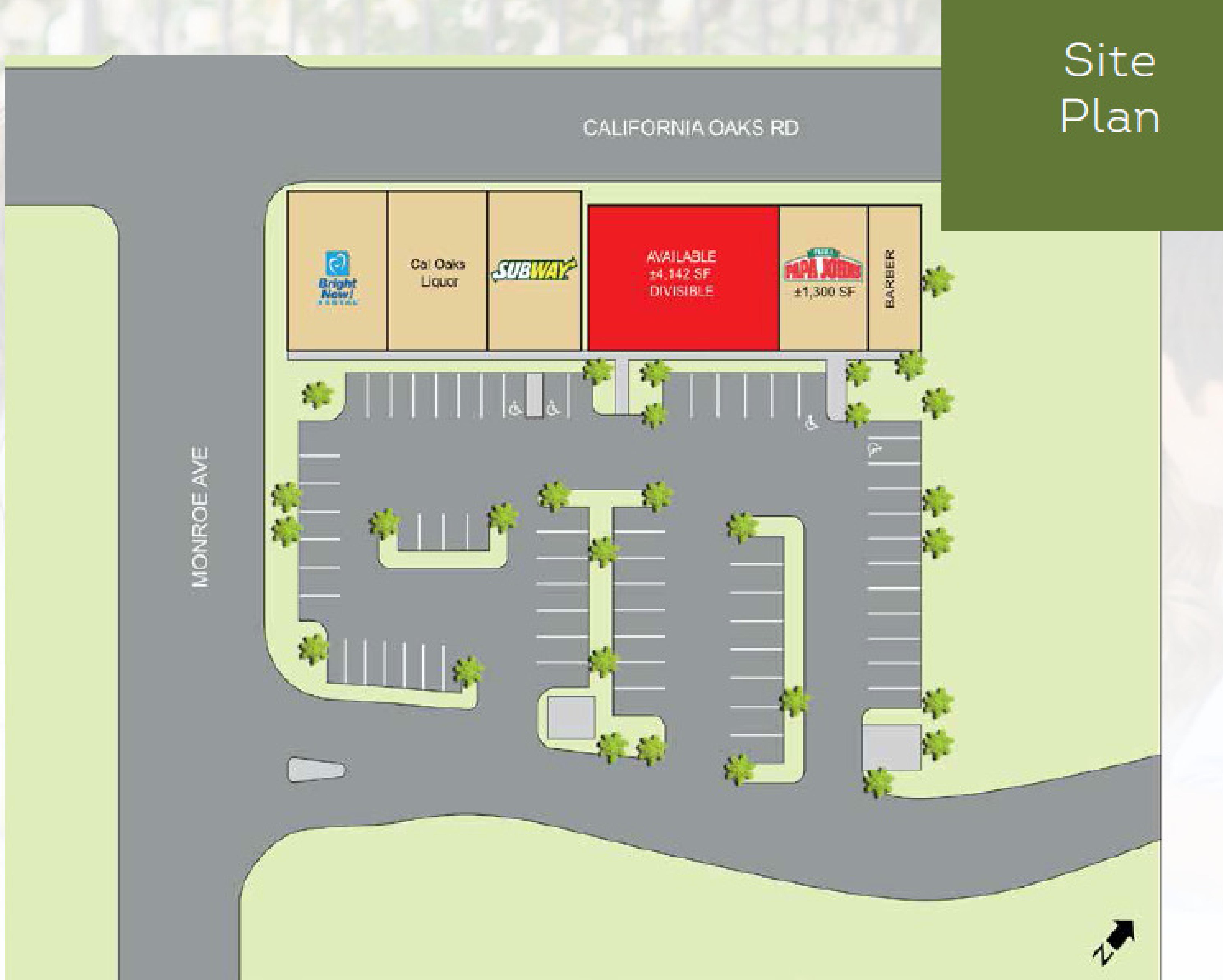 Cal Oaks-Murrieta-40770 California Oaks Rd: site plan