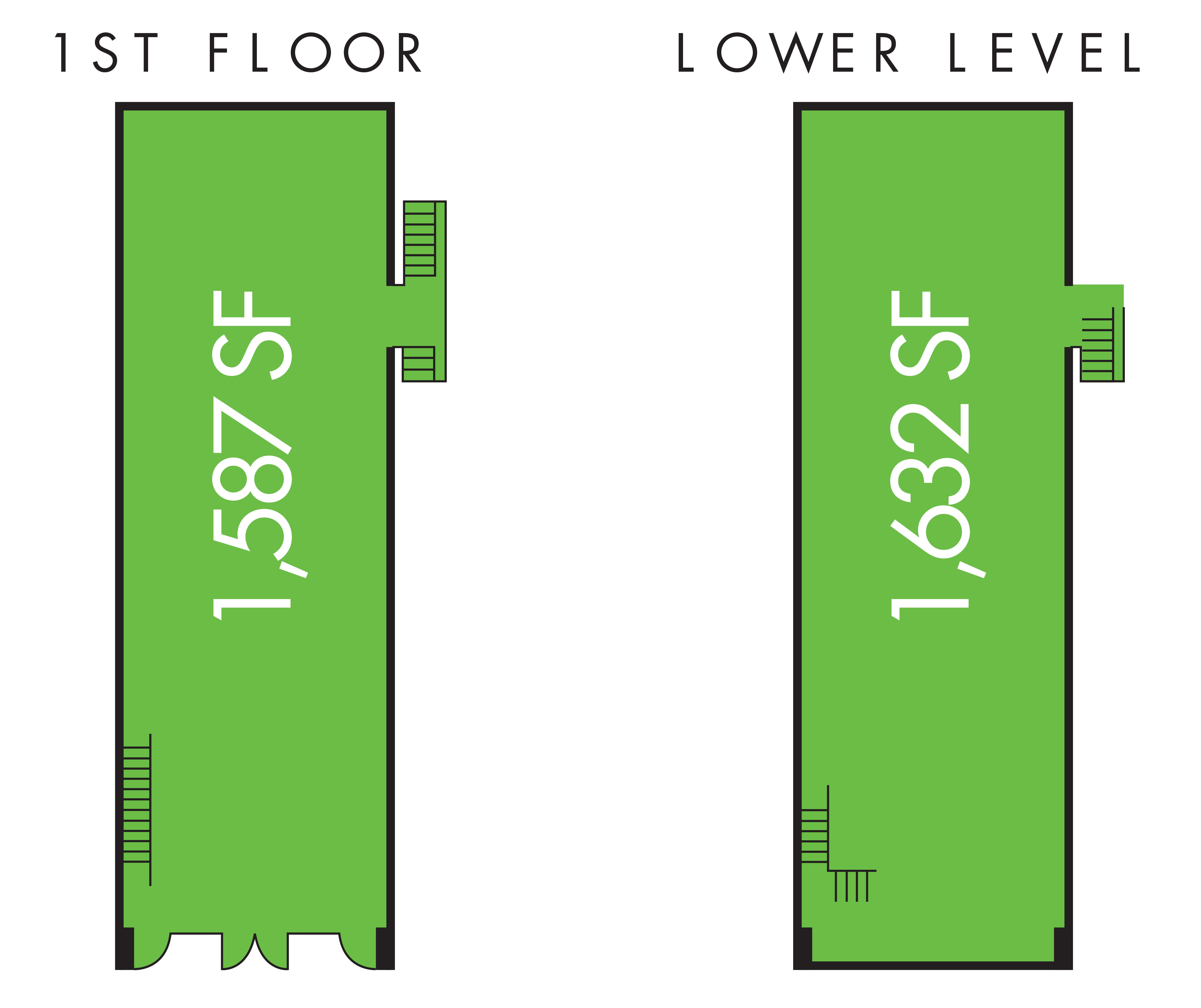 2101 K Street NW: site plan