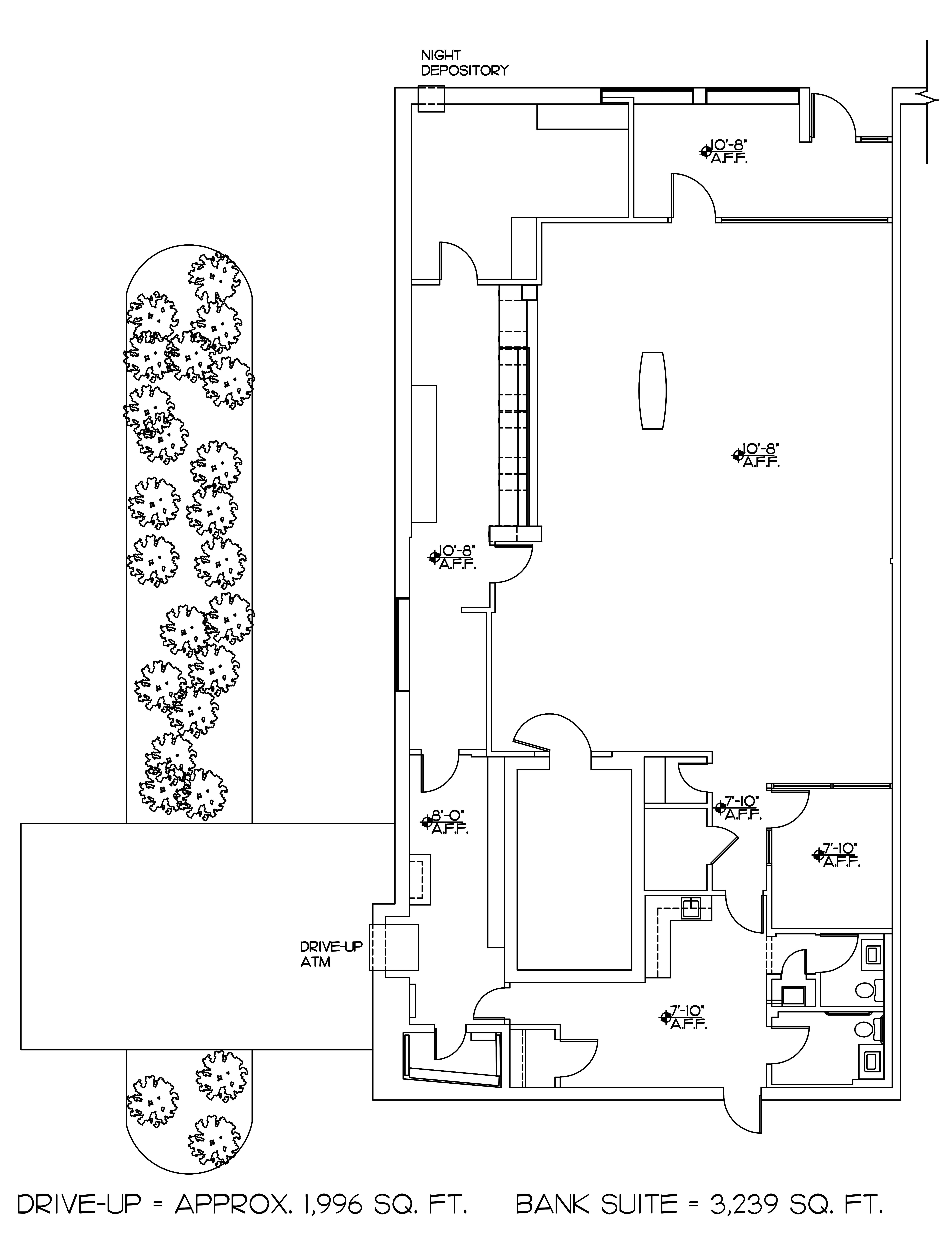 Seminary Plaza: site plan