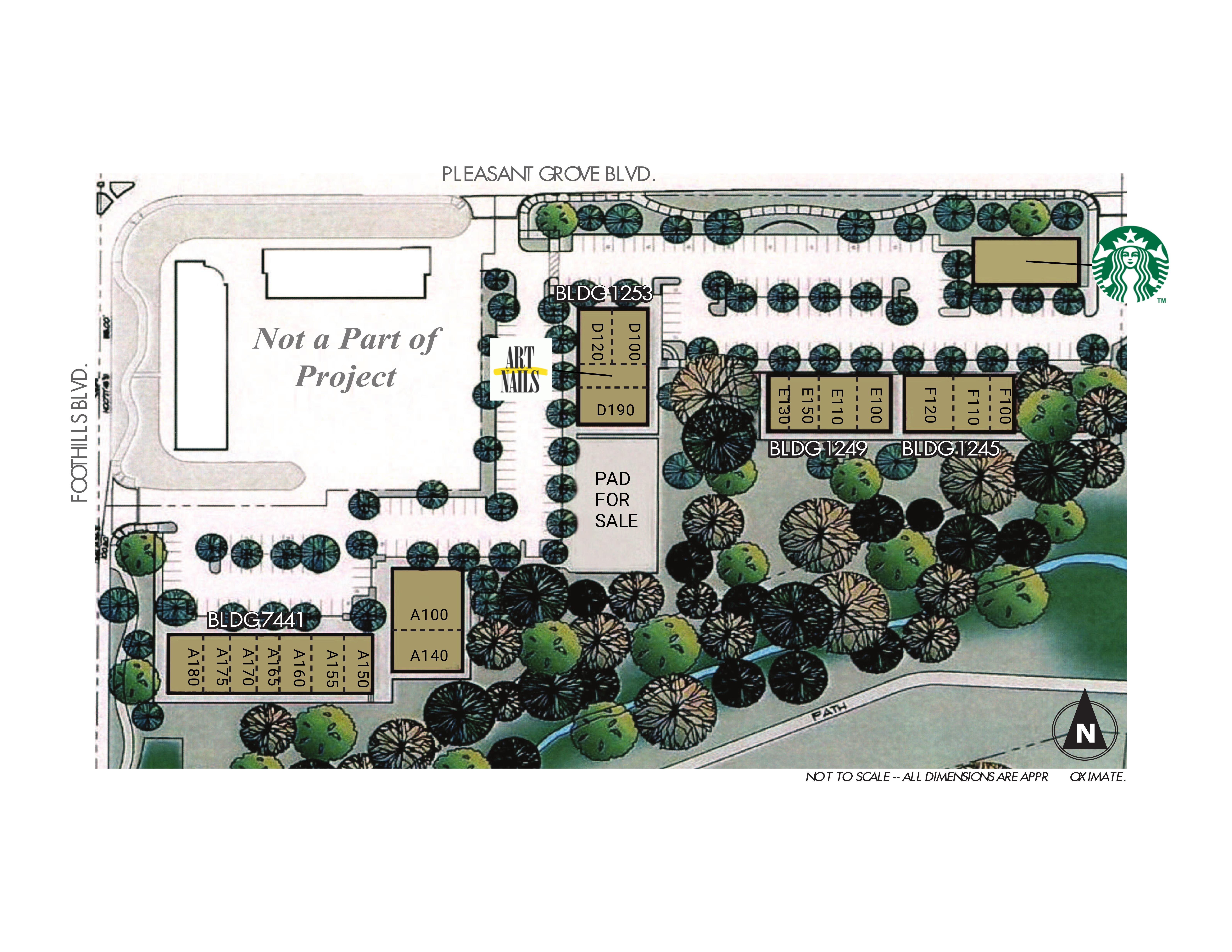 Arbor View Village - Lease: site plan