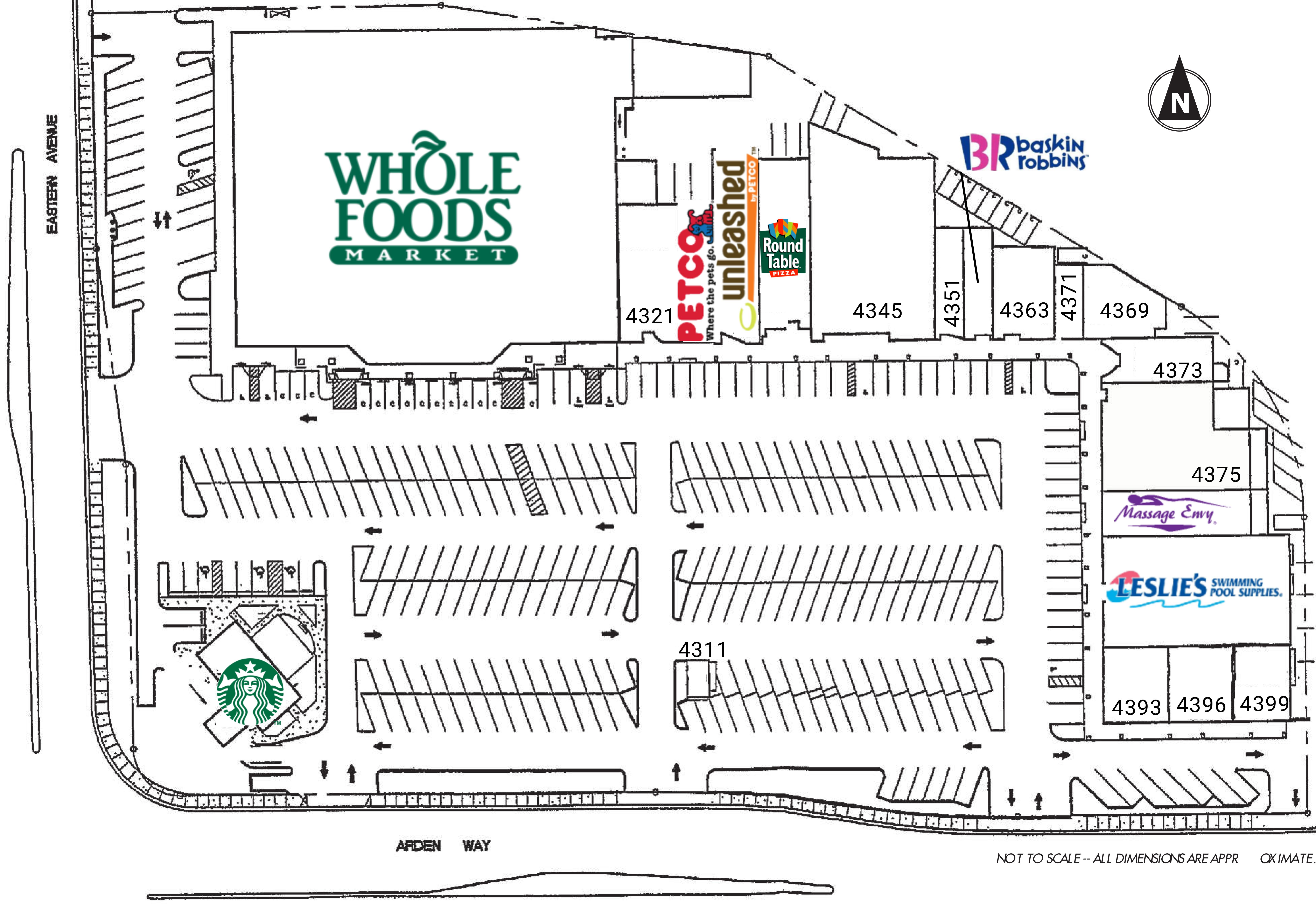 Arden Plaza: site plan