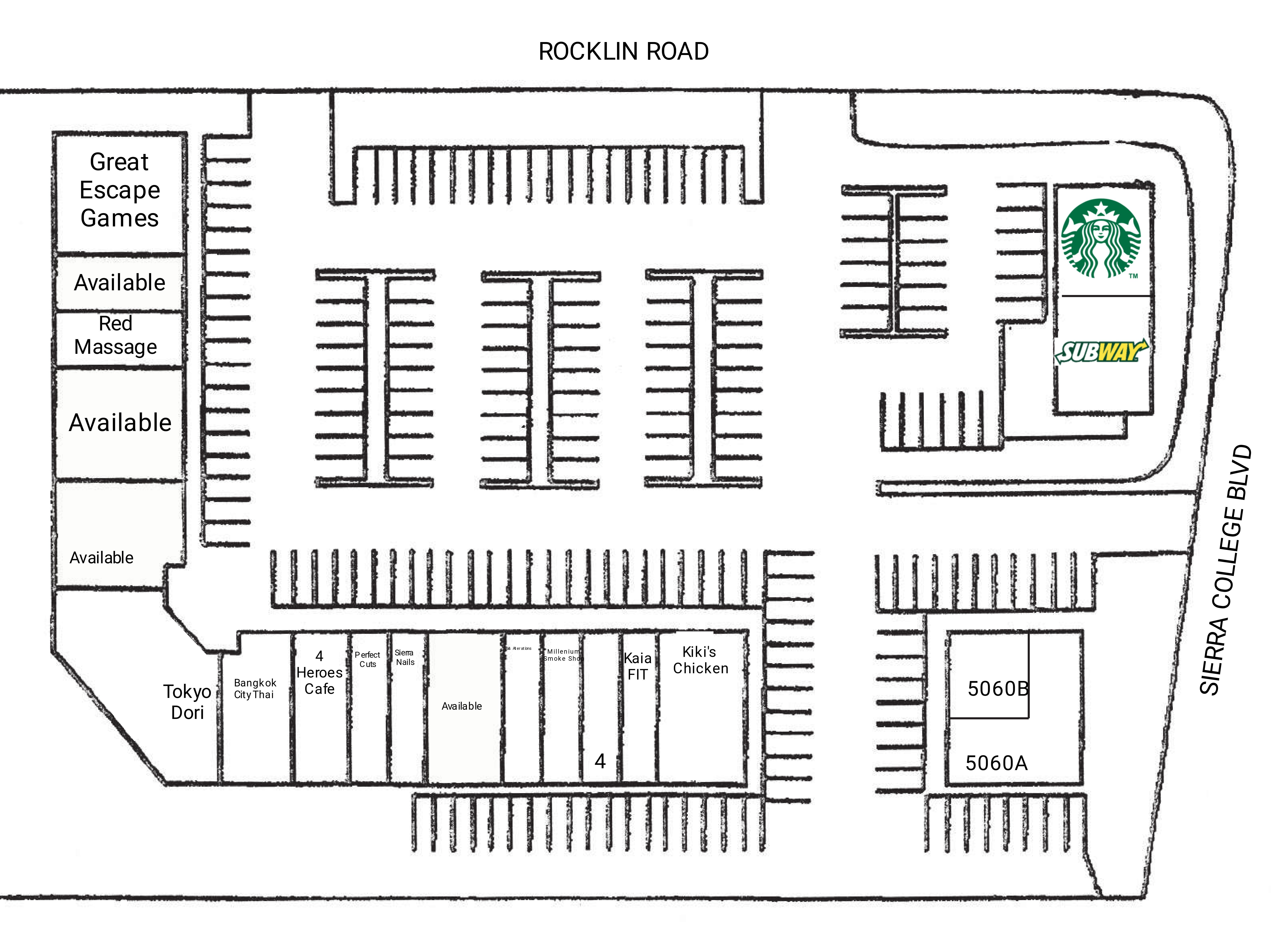Campus Plaza: site plan