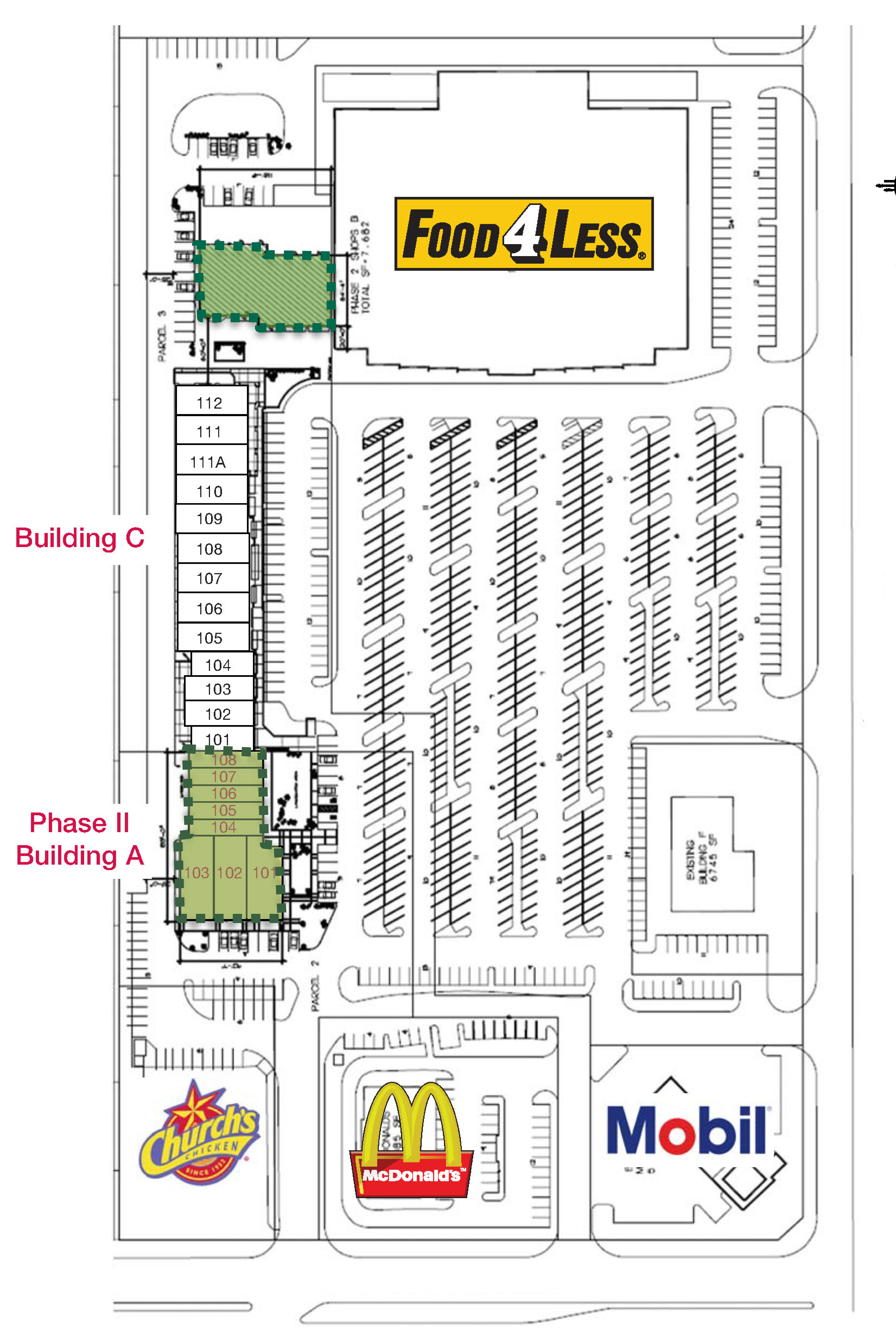 Shoppes in Moreno Valley-Pads for Sale, Lease or BTS: sit...