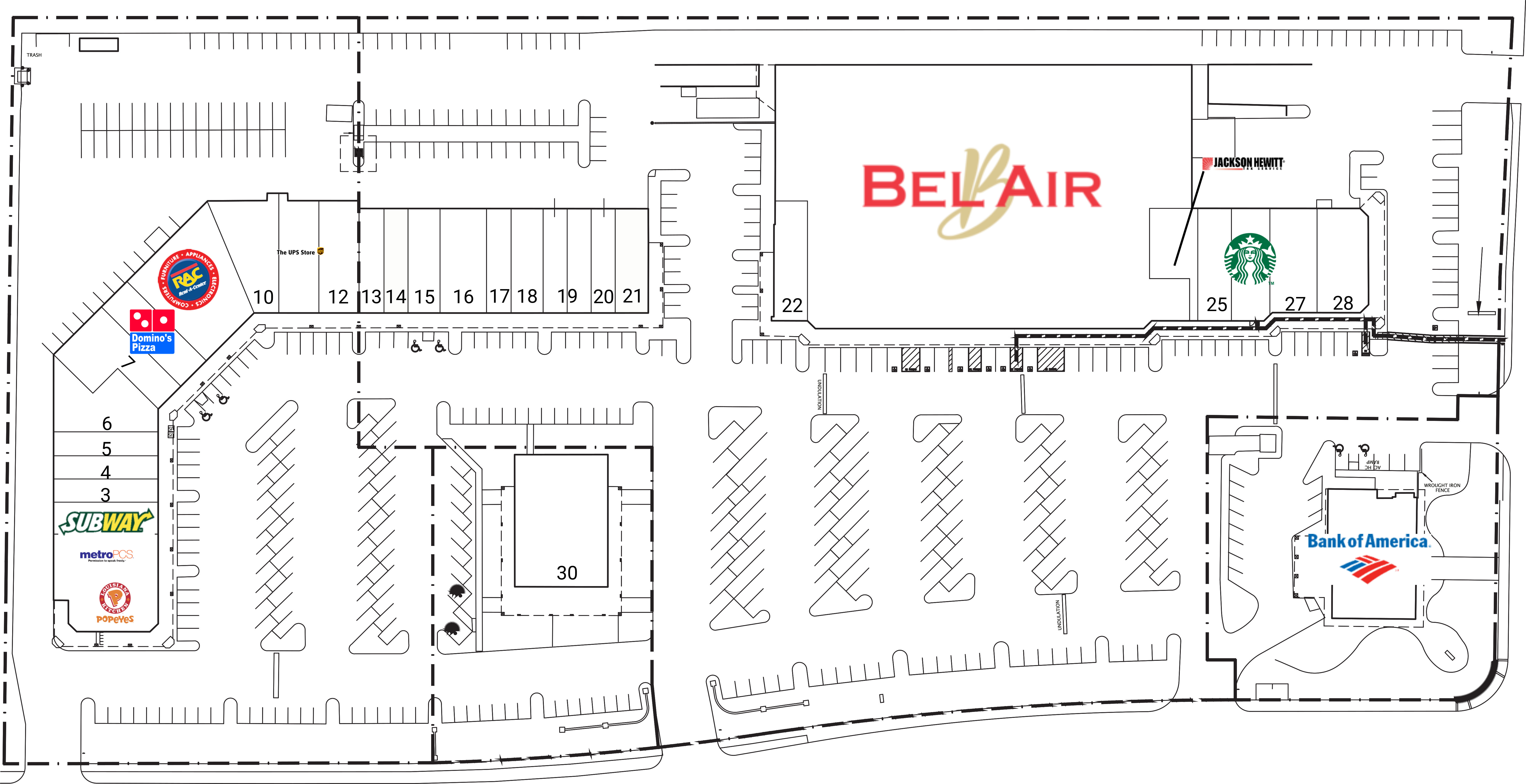 Discovery Plaza: site plan