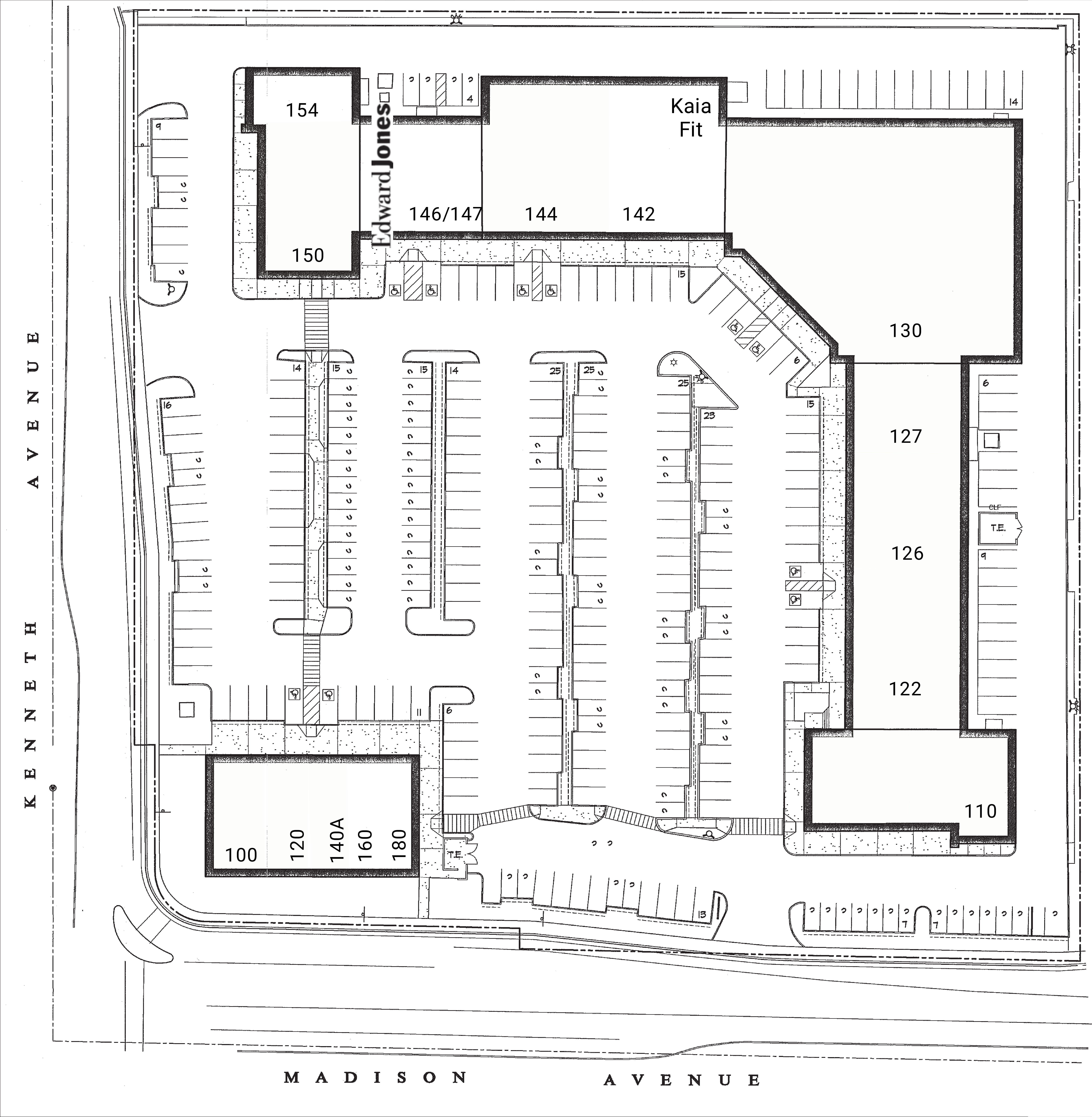 Fair Oaks Pointe: site plan
