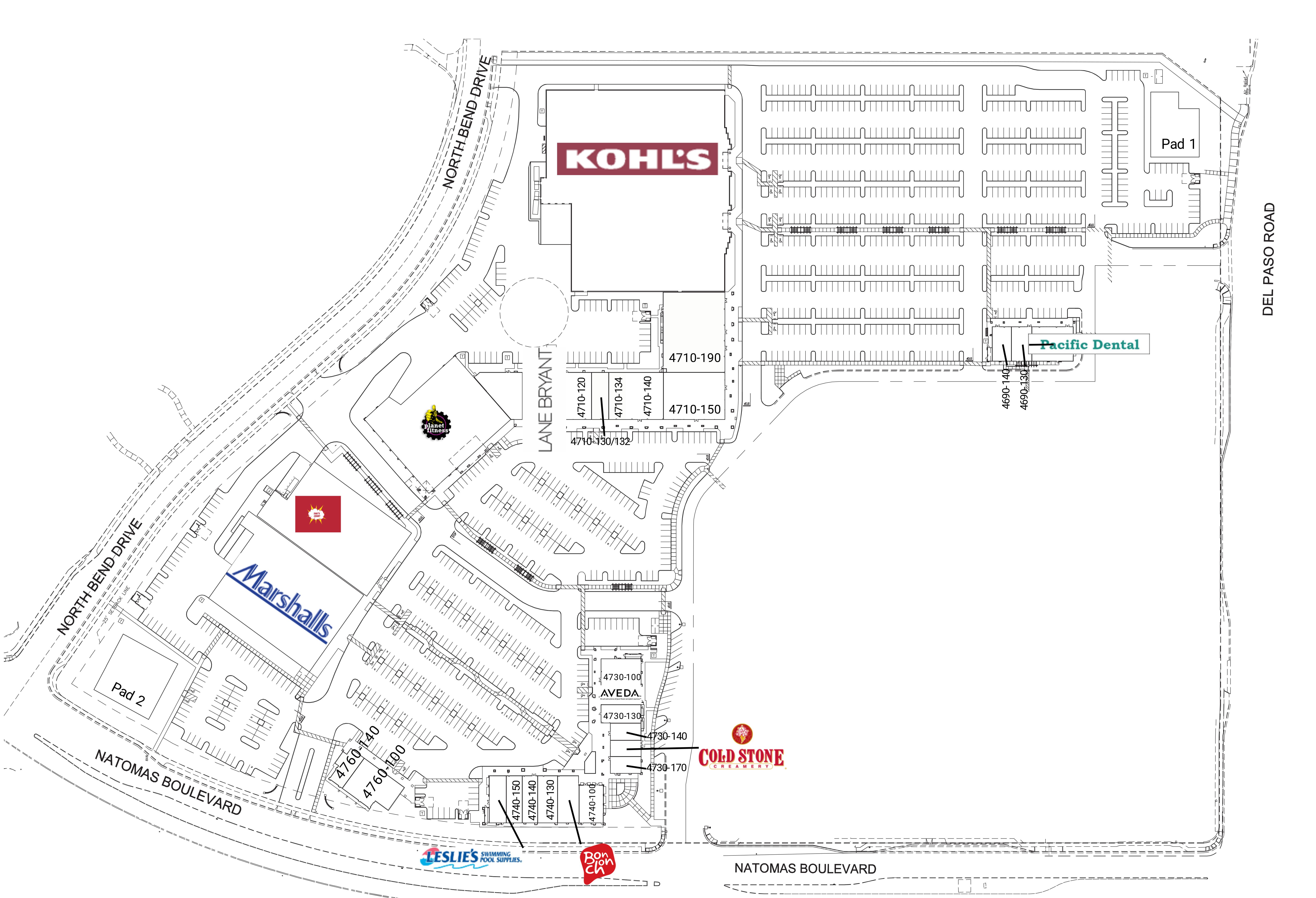 Park Place II: site plan