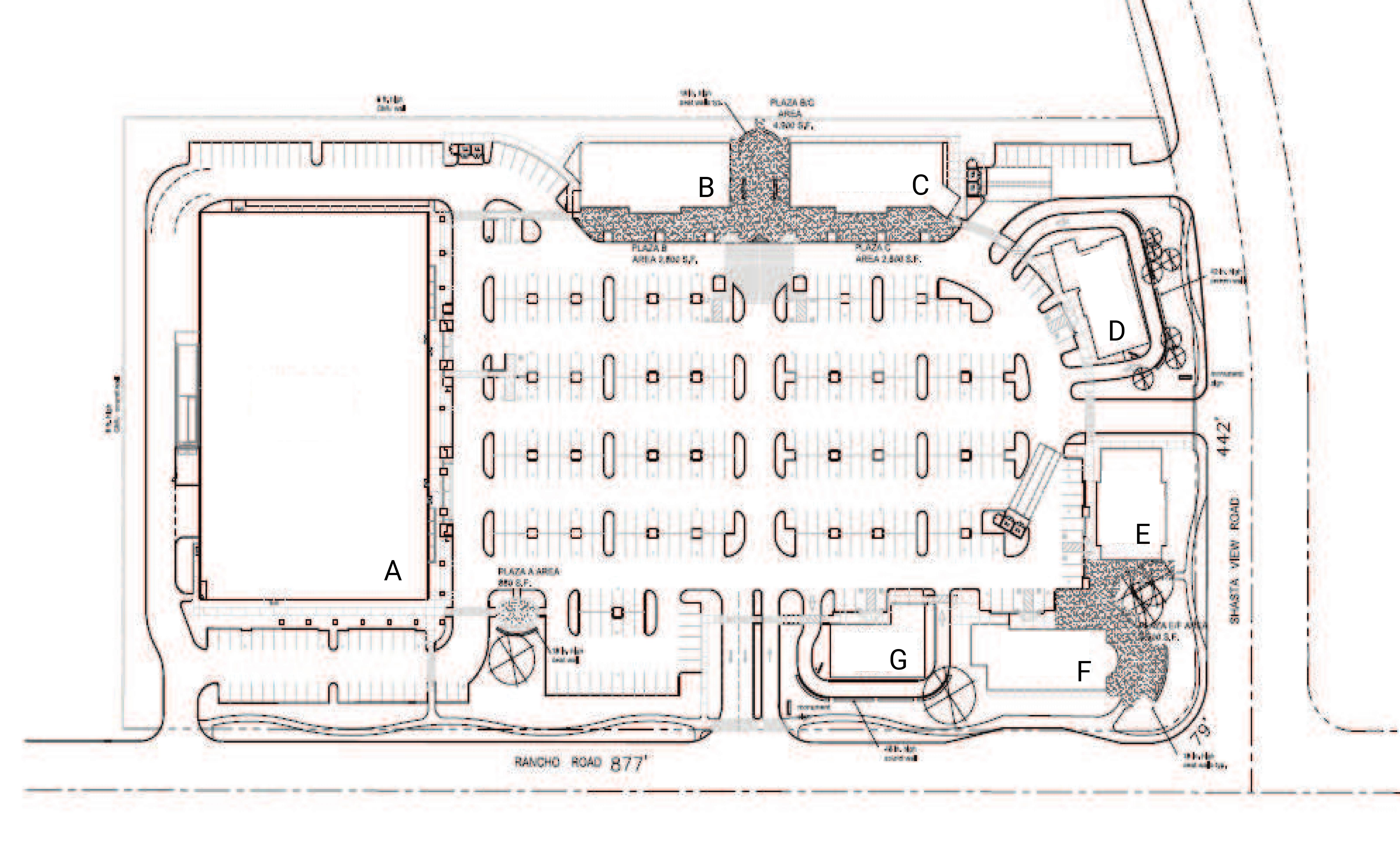 Shasta View Land: site plan