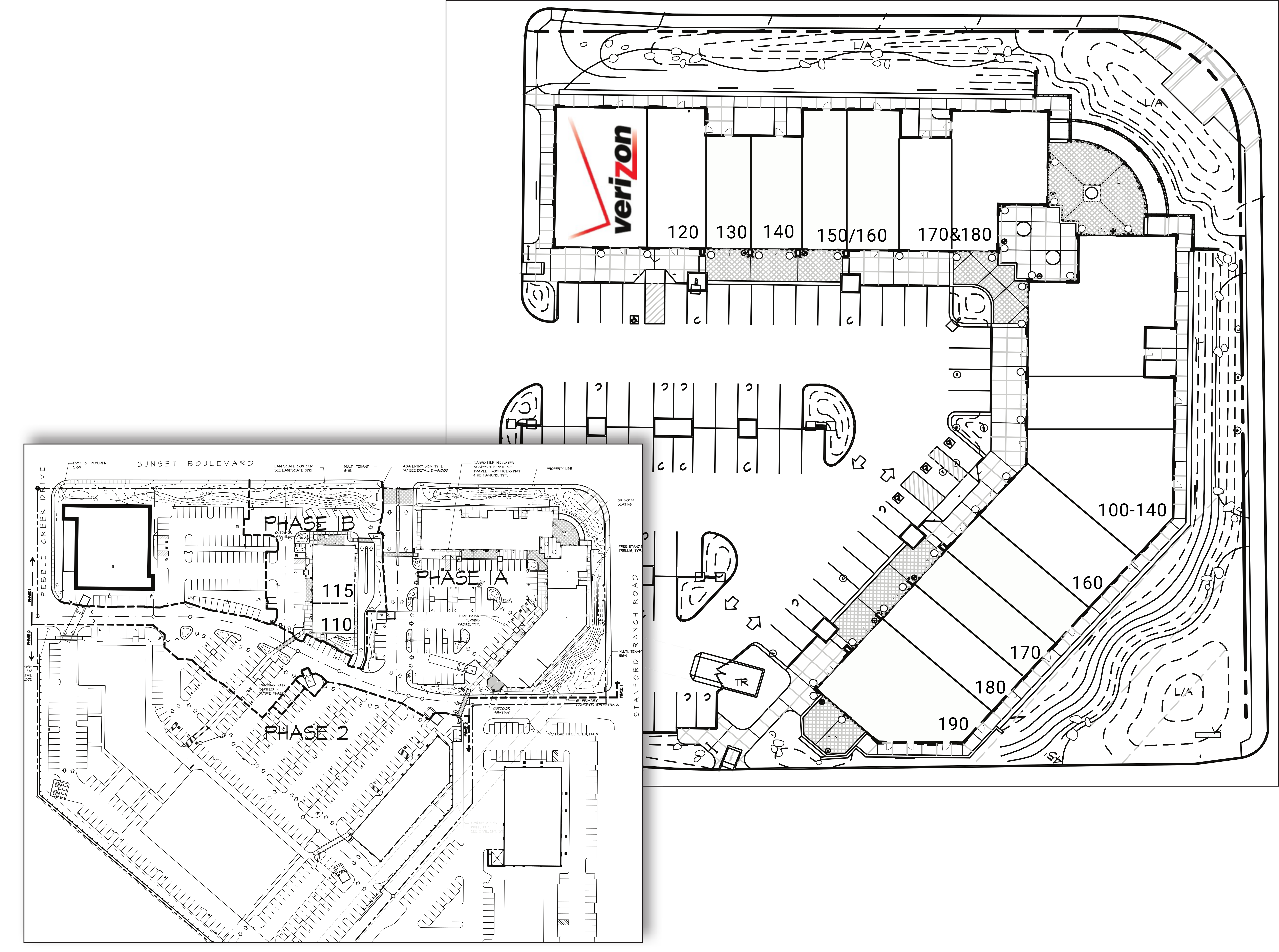 Stanford Plaza: site plan