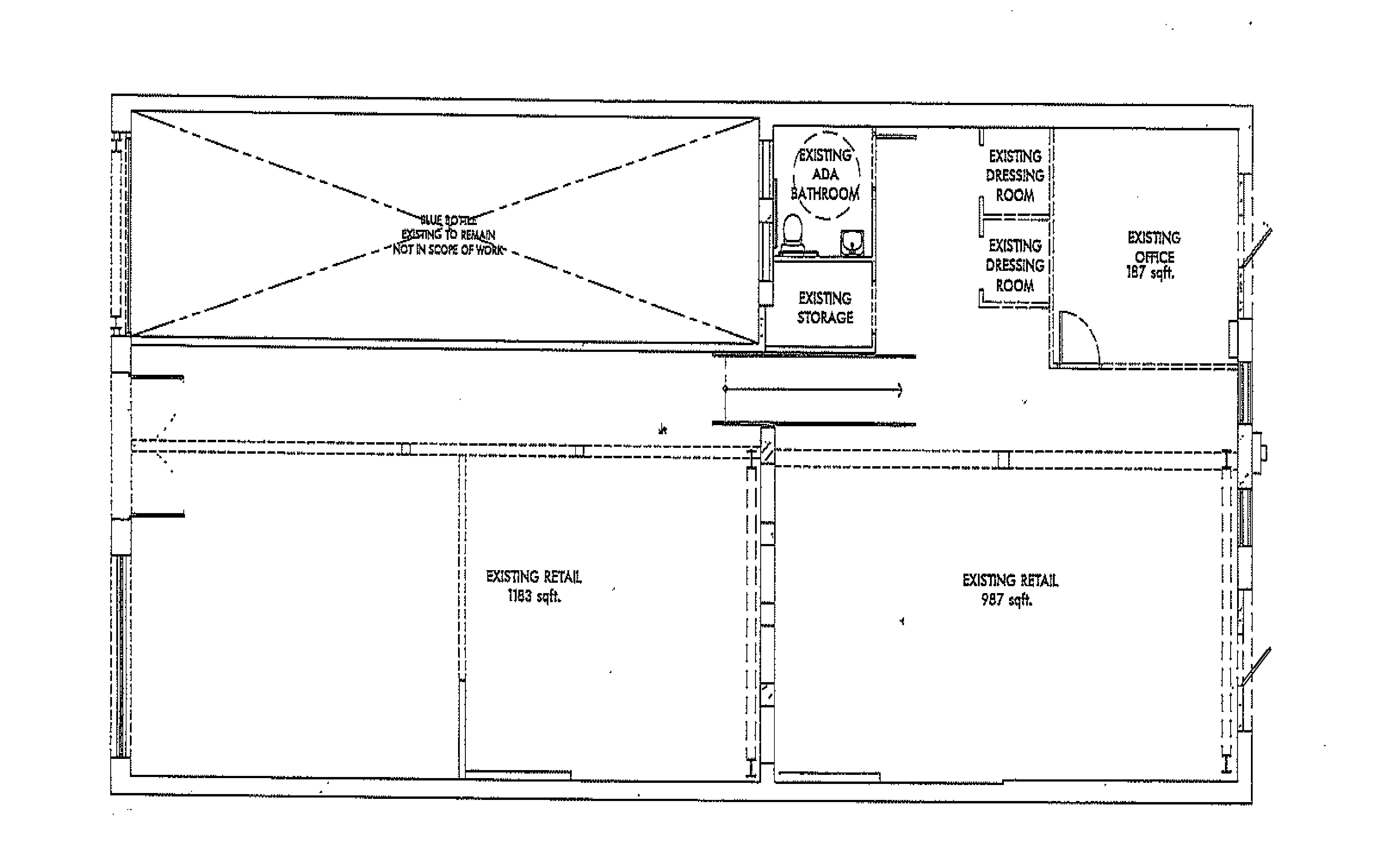 1103 Abbot Kinney: site plan