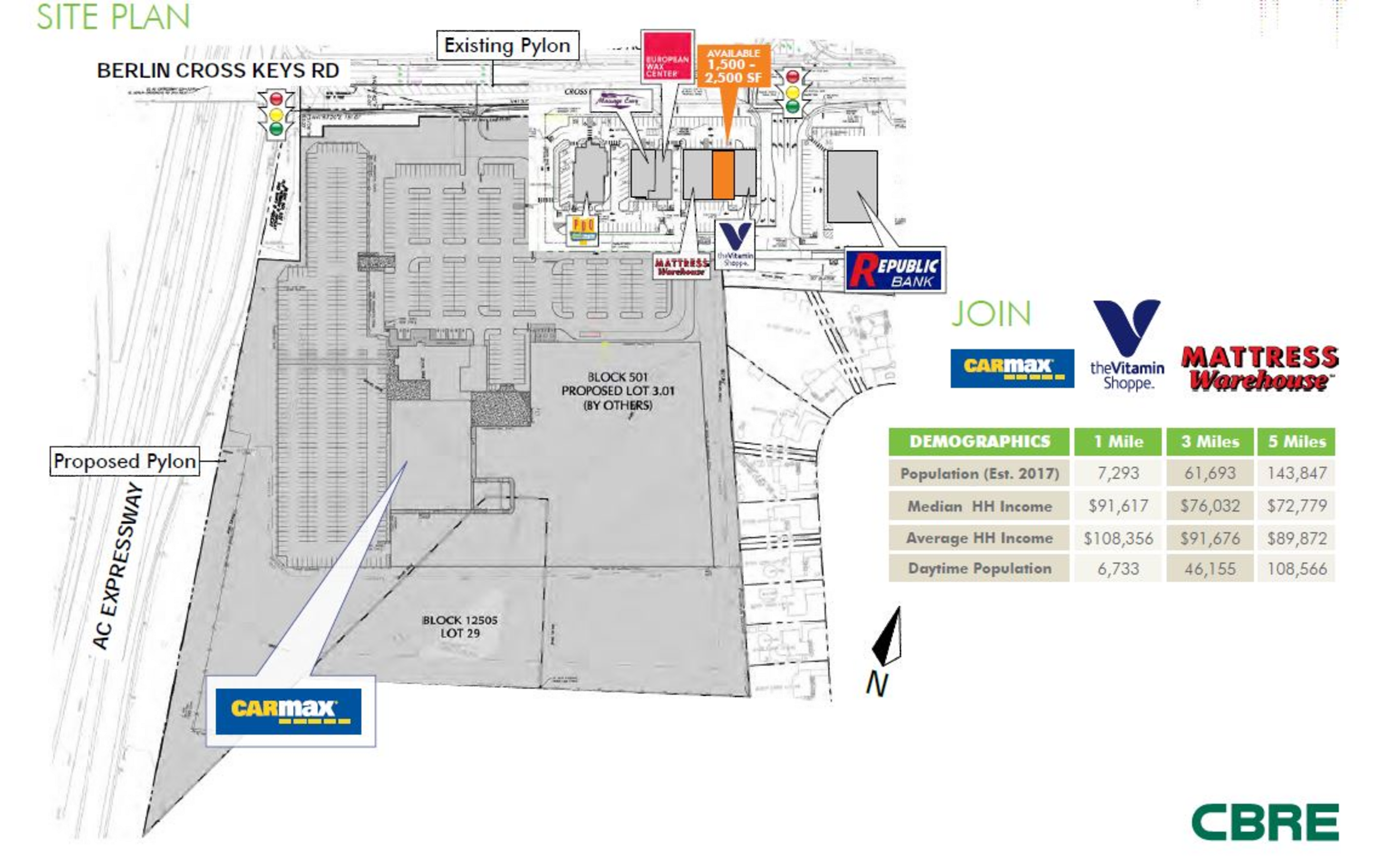 Heritage Plaza at Winsow: site plan