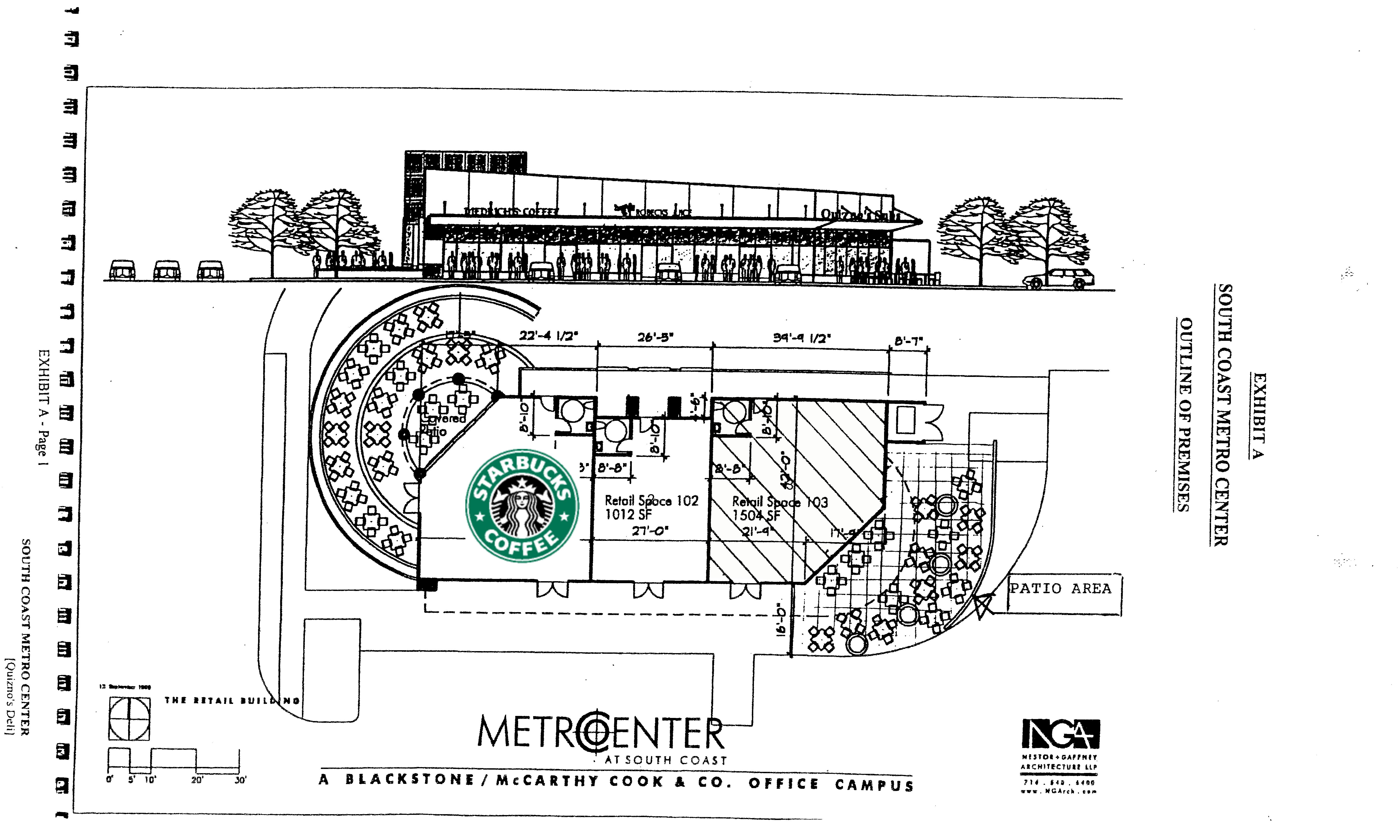 545 Anton Blvd: site plan