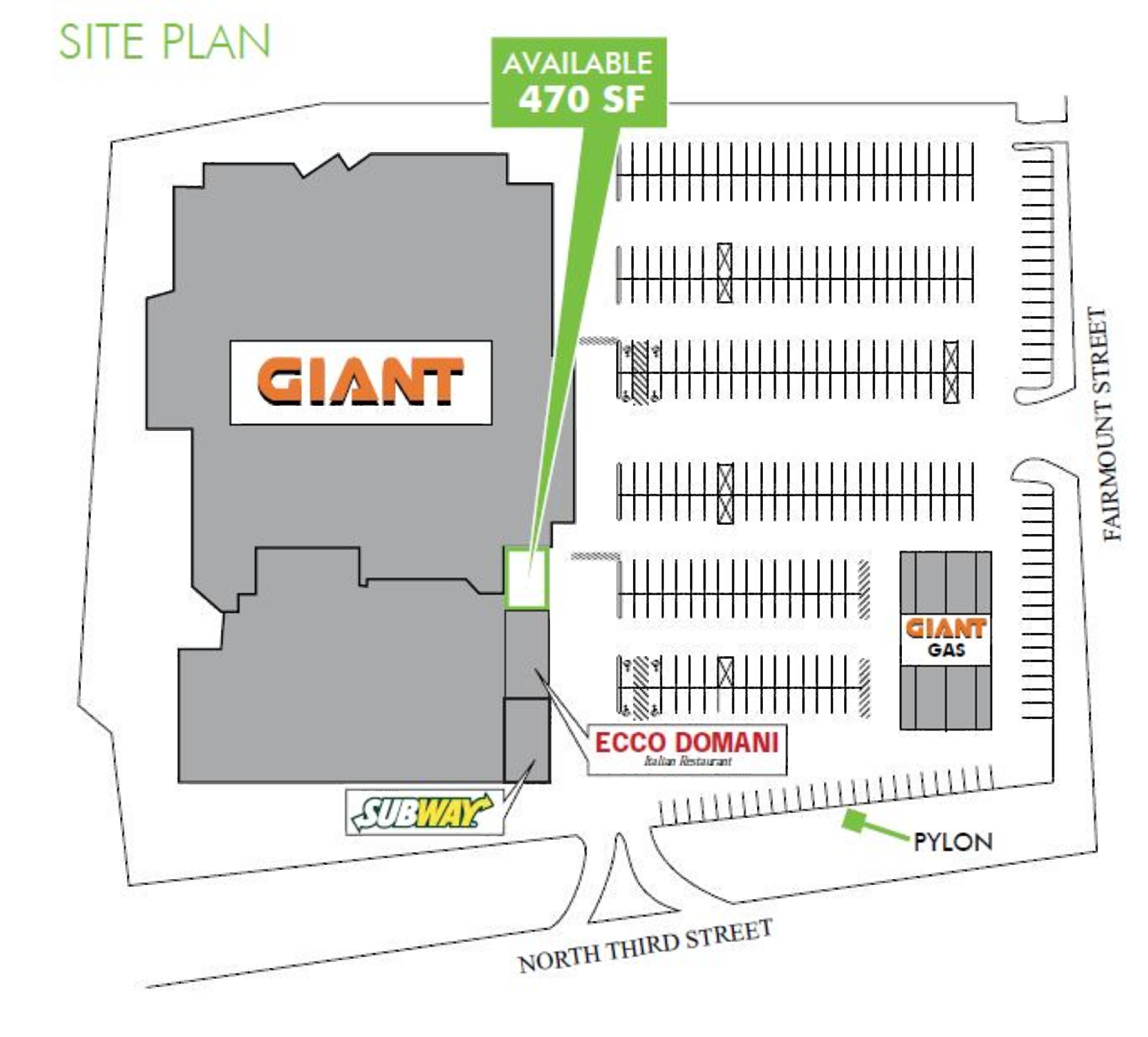 Coopersburg Common: site plan