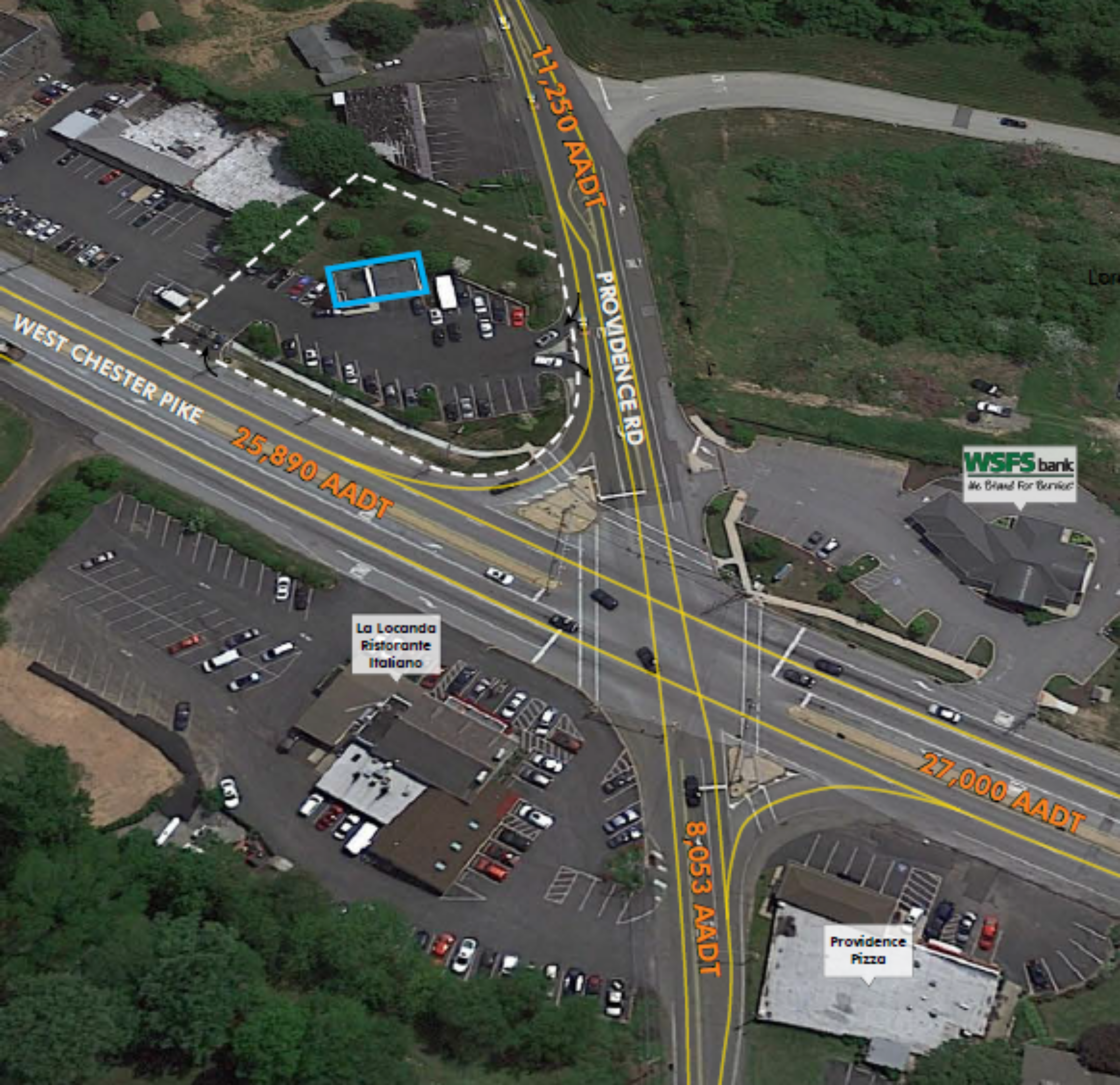 Route 3 (West Chester Pike) - Newtown Square, PA: site plan