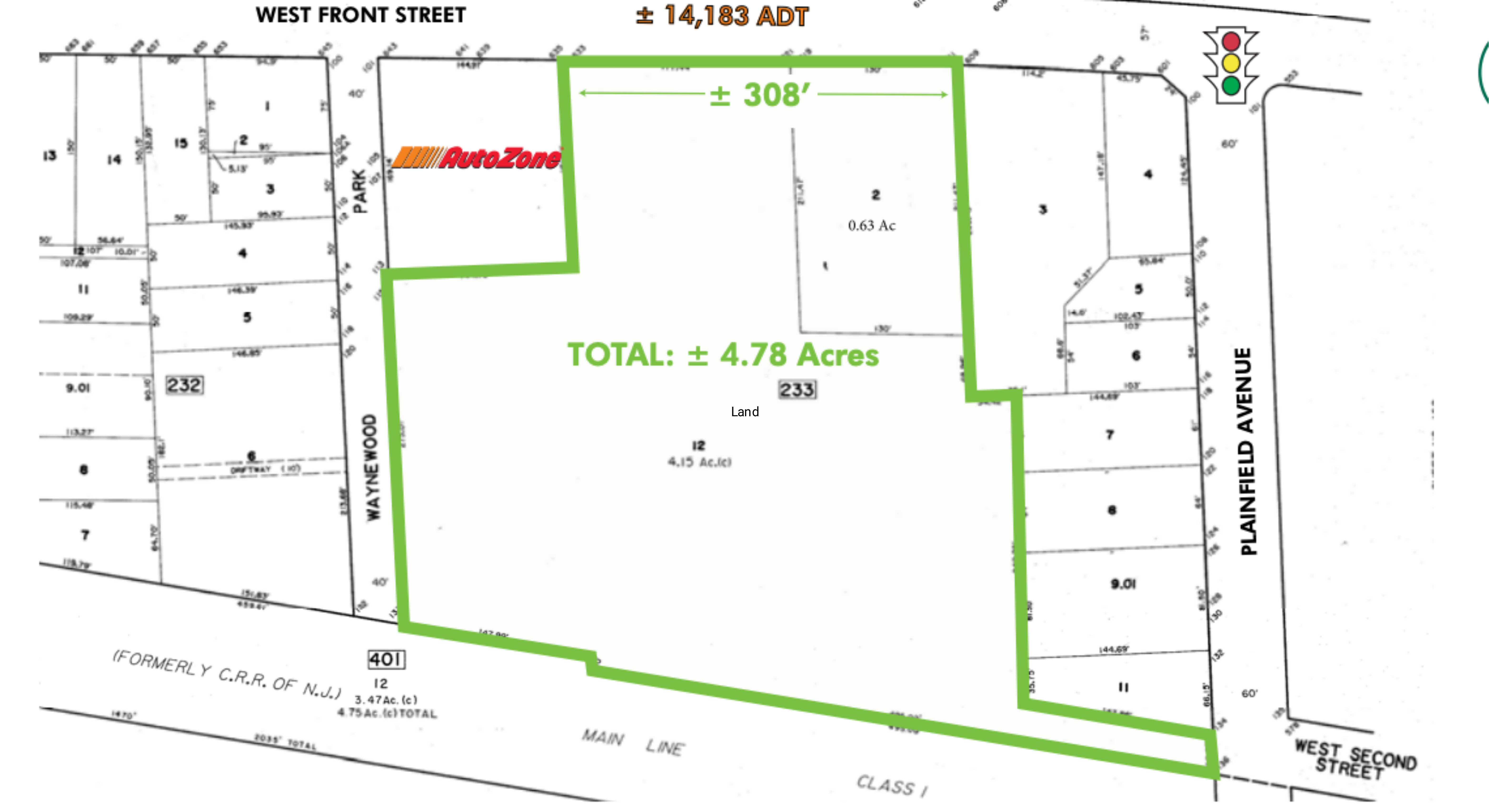 Land for Sale - Liccardi: site plan