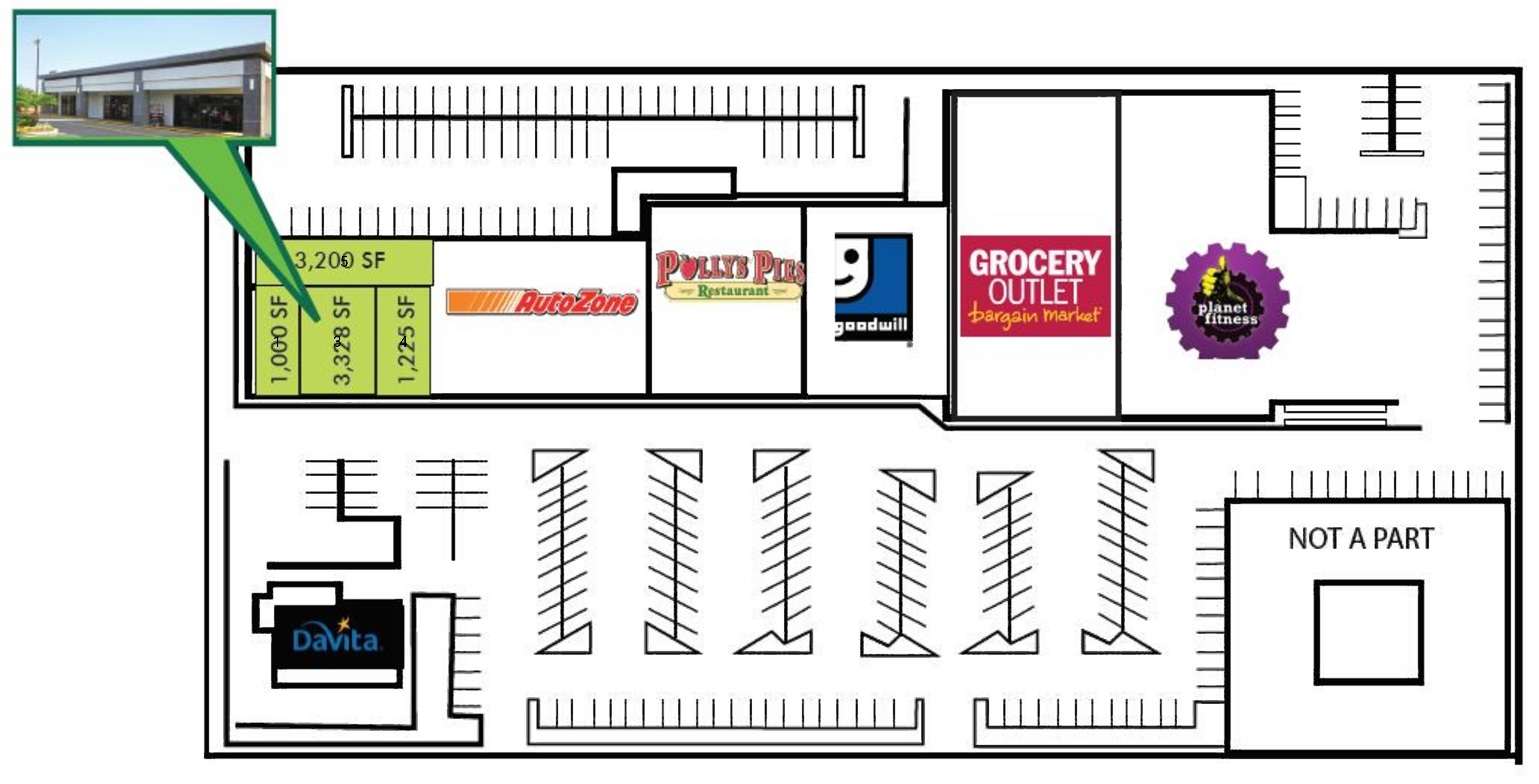 Fullerton Square : site plan
