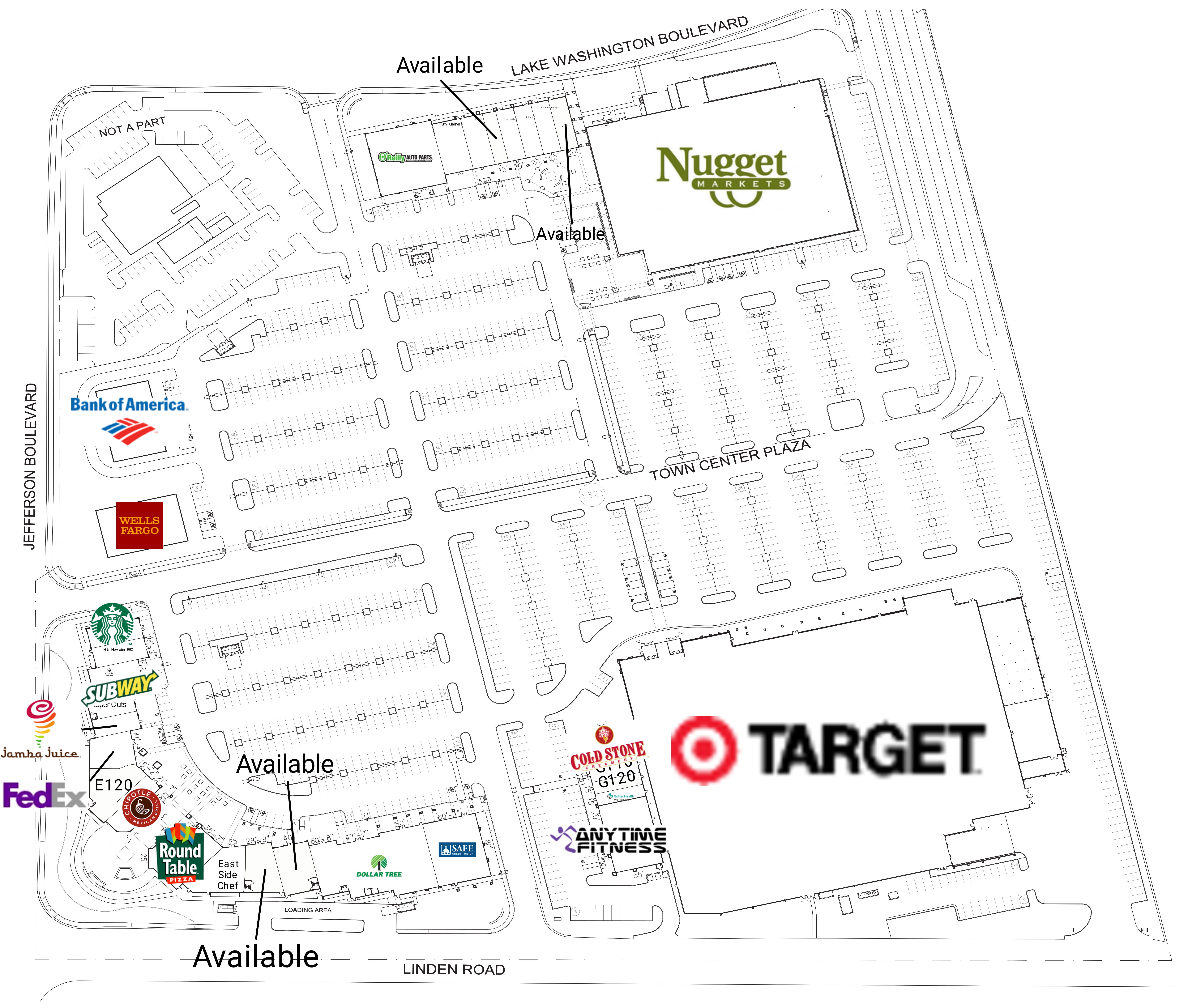 Southport Town Center: site plan