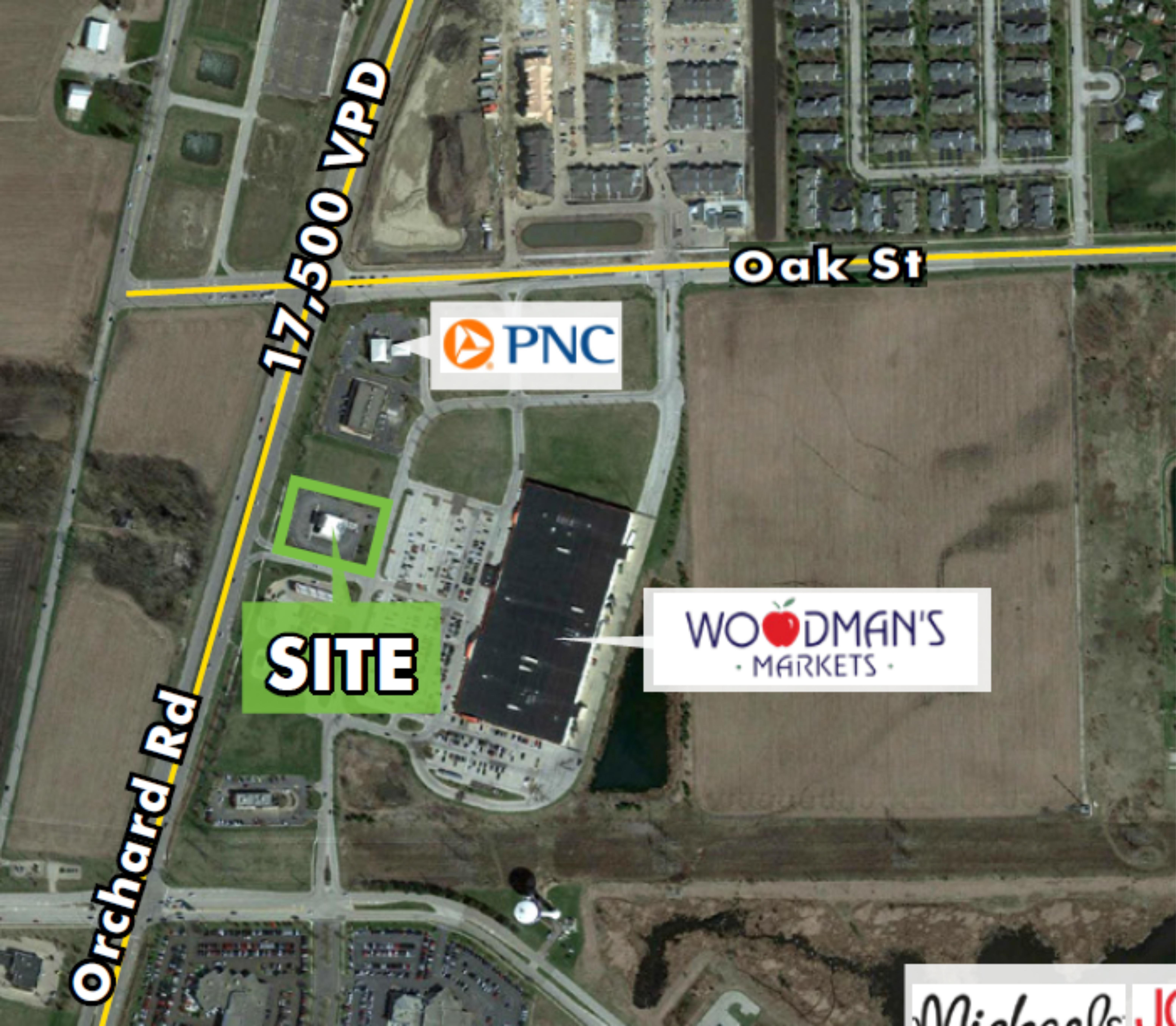 1.15 Acre Site, 4,297 SF Building: site plan