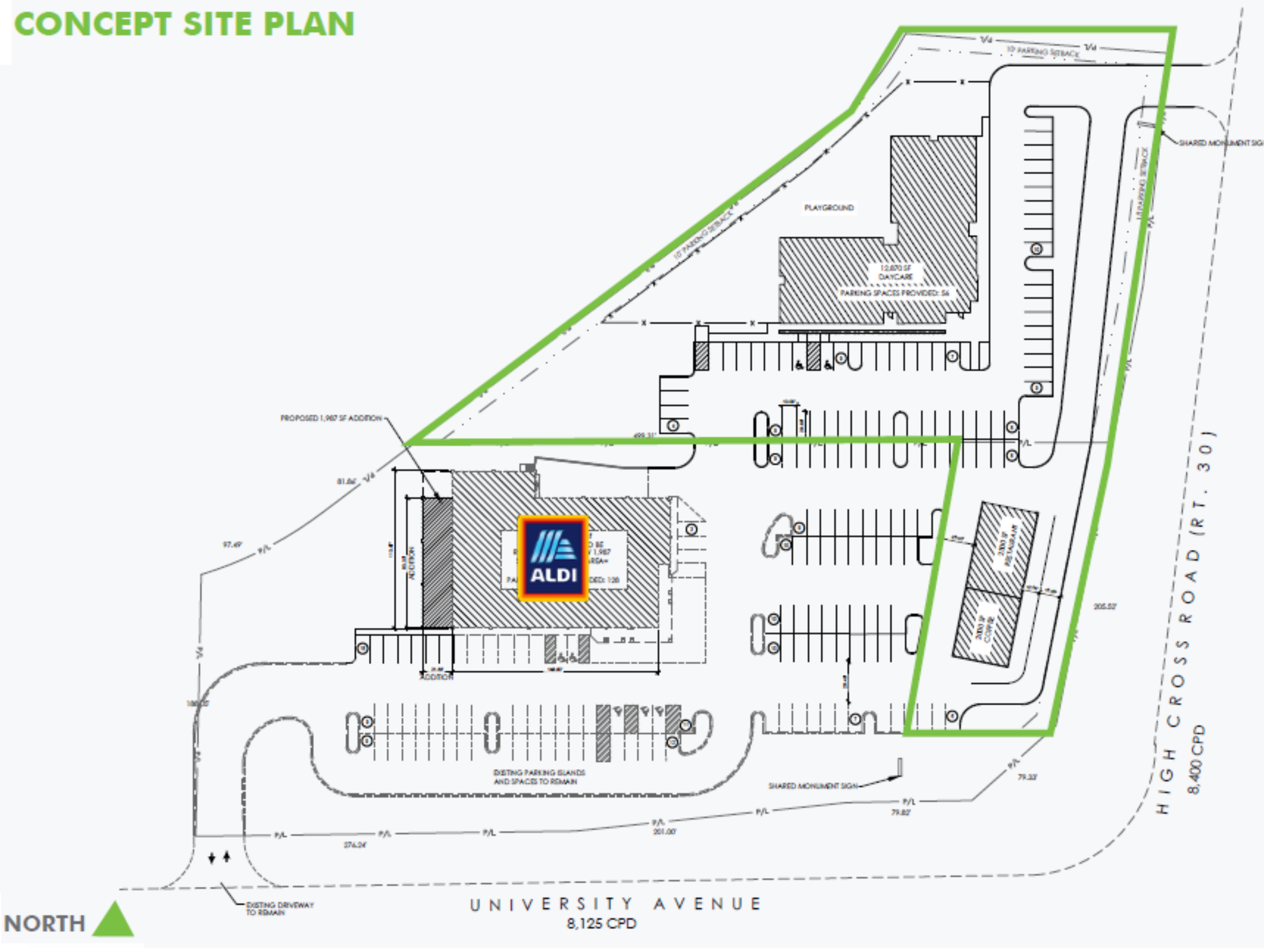 2.21 Acre Land Available: site plan
