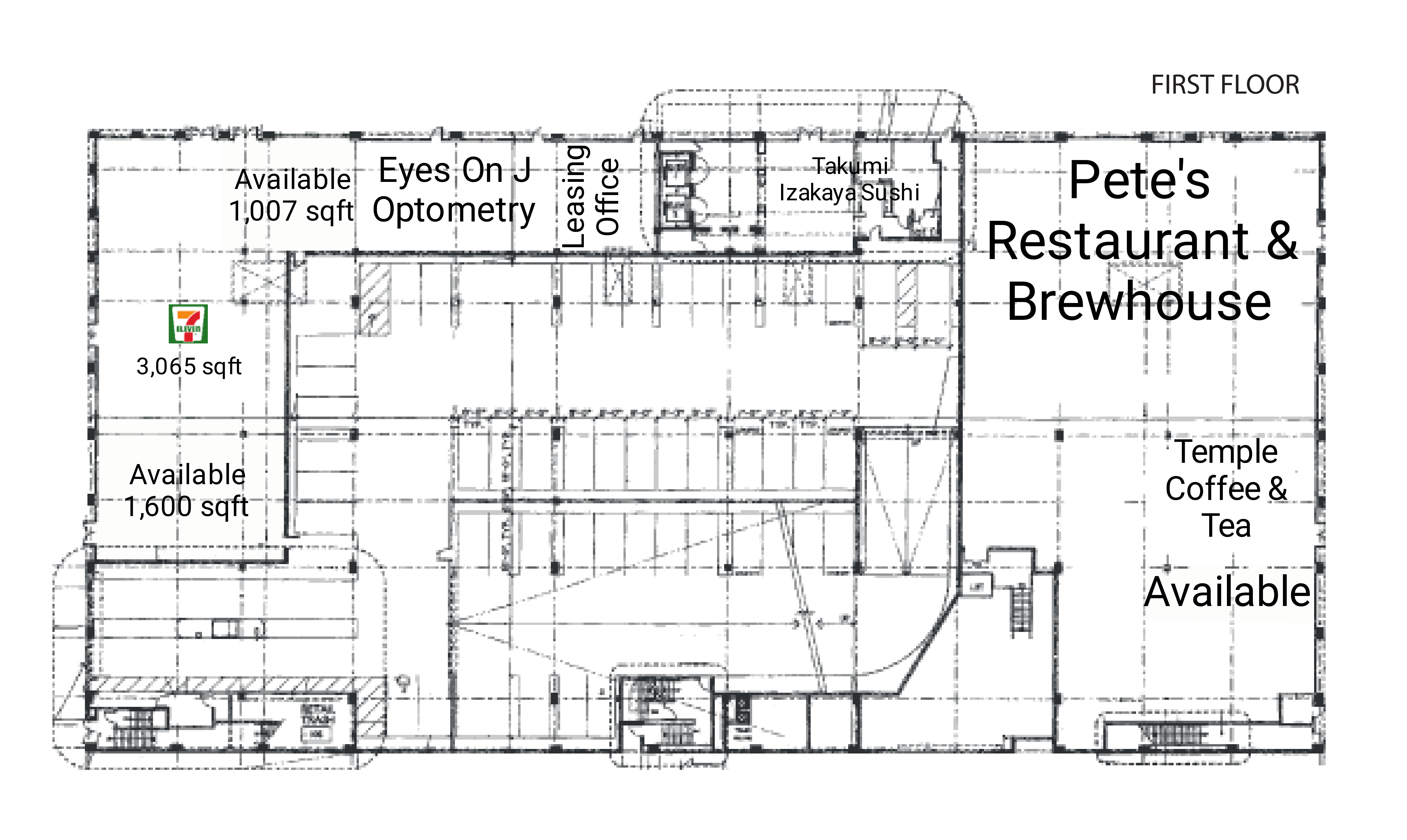J Street Lofts: site plan