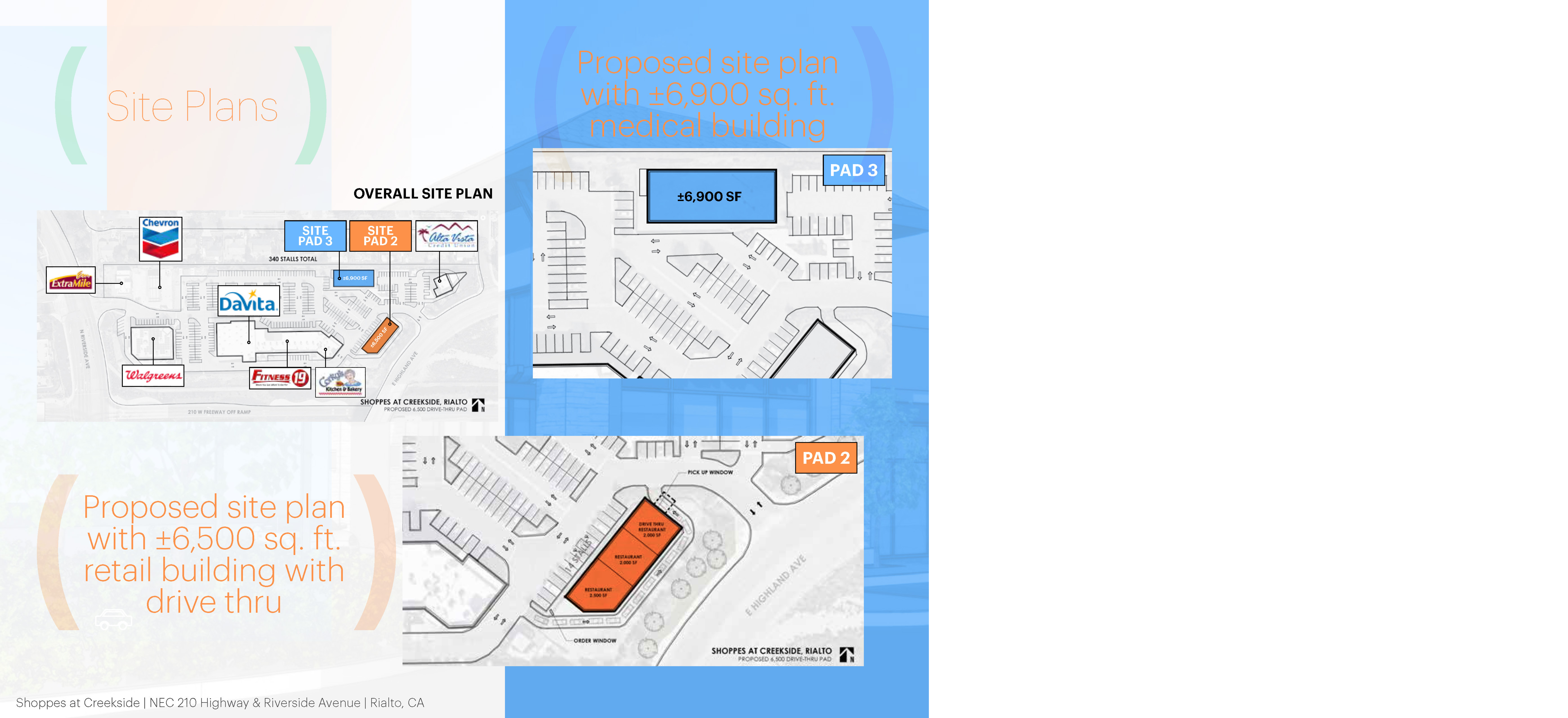 Shoppes At Creekside: site plan