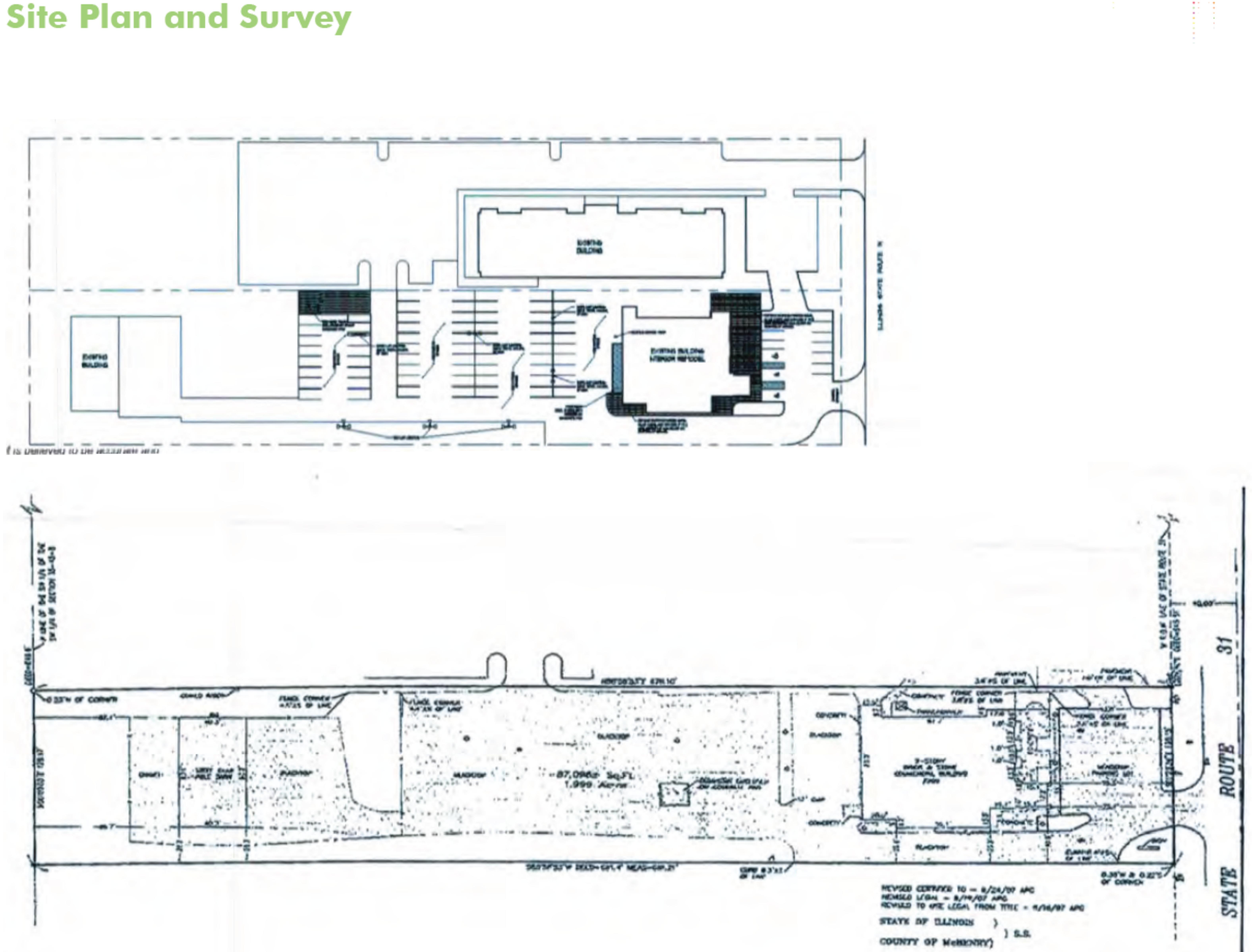 Former Restaurant Available: site plan