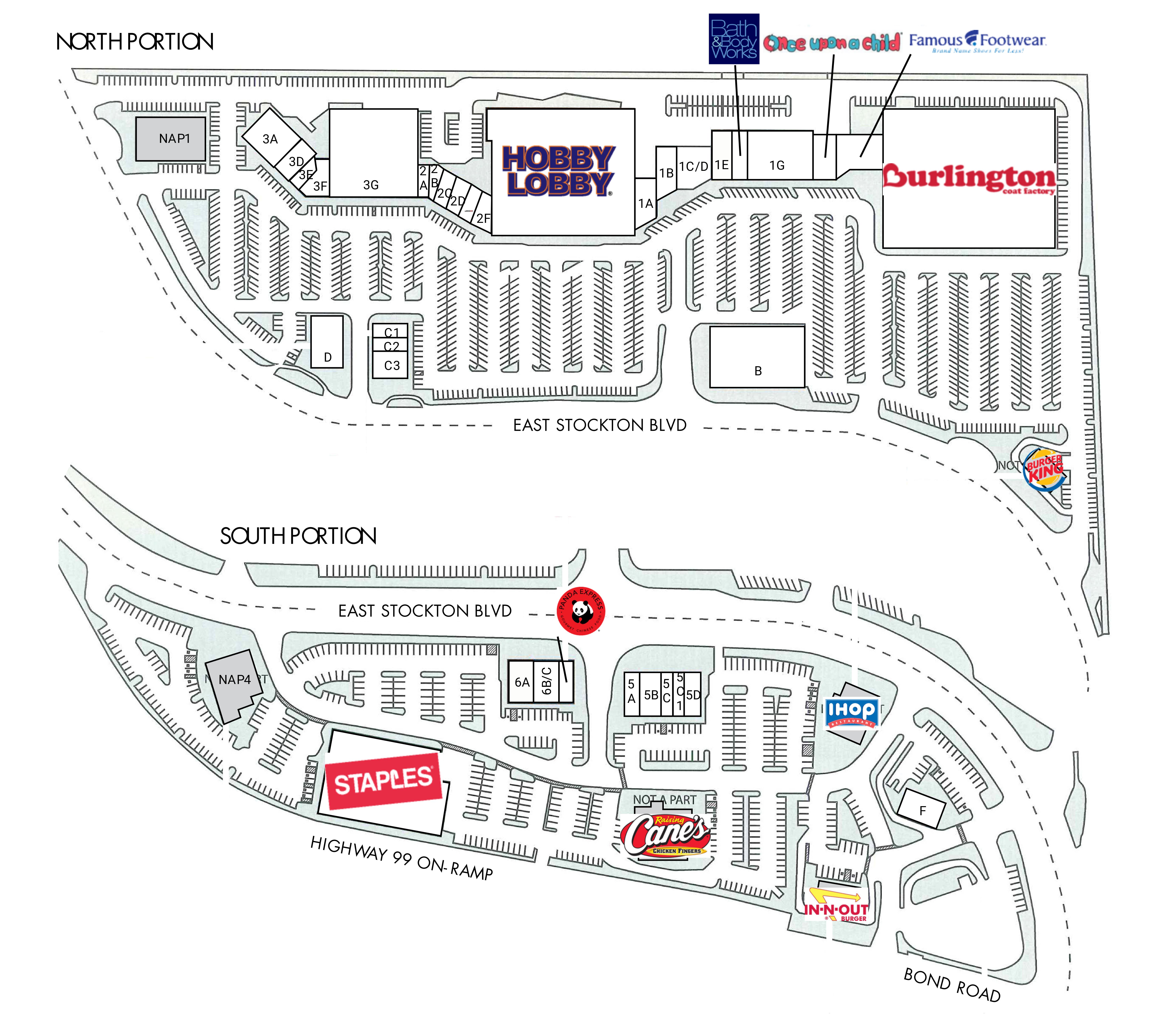 Marketplace 99: site plan