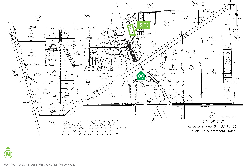 Highway Commercial Land - Carol Dr: site plan