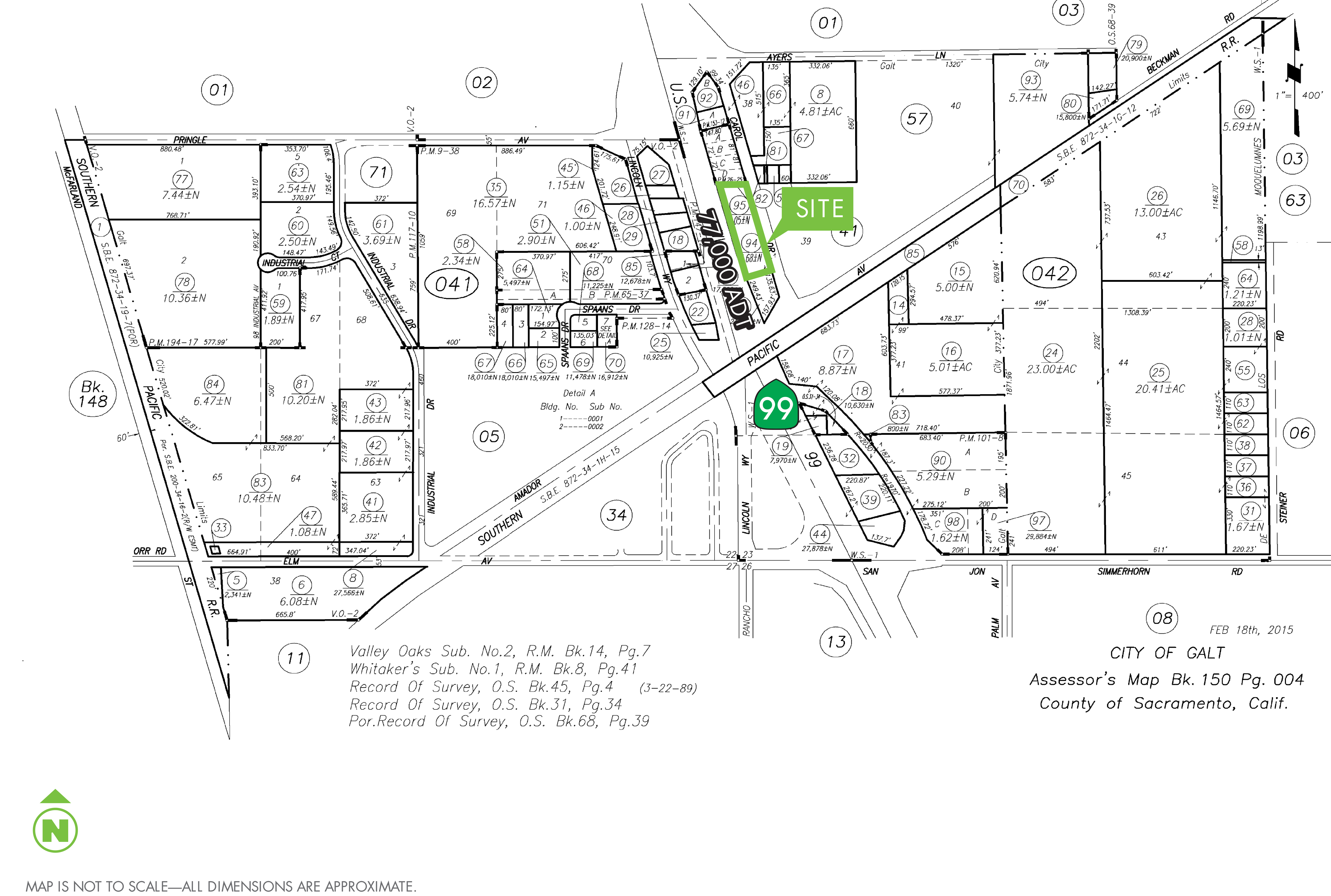 Commercial Land - Carol Dr: site plan