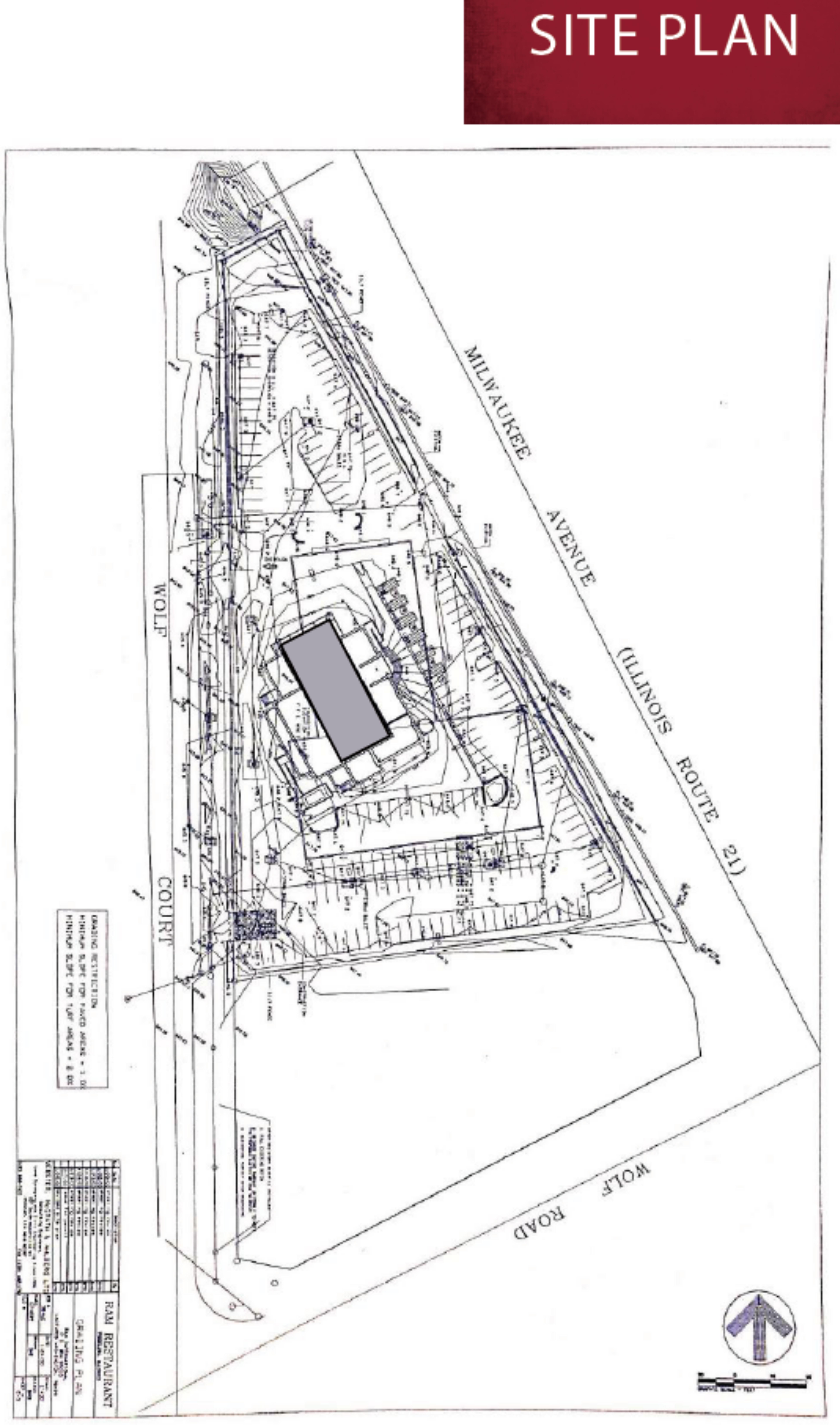 700 N Milwaukee Avenue: site plan