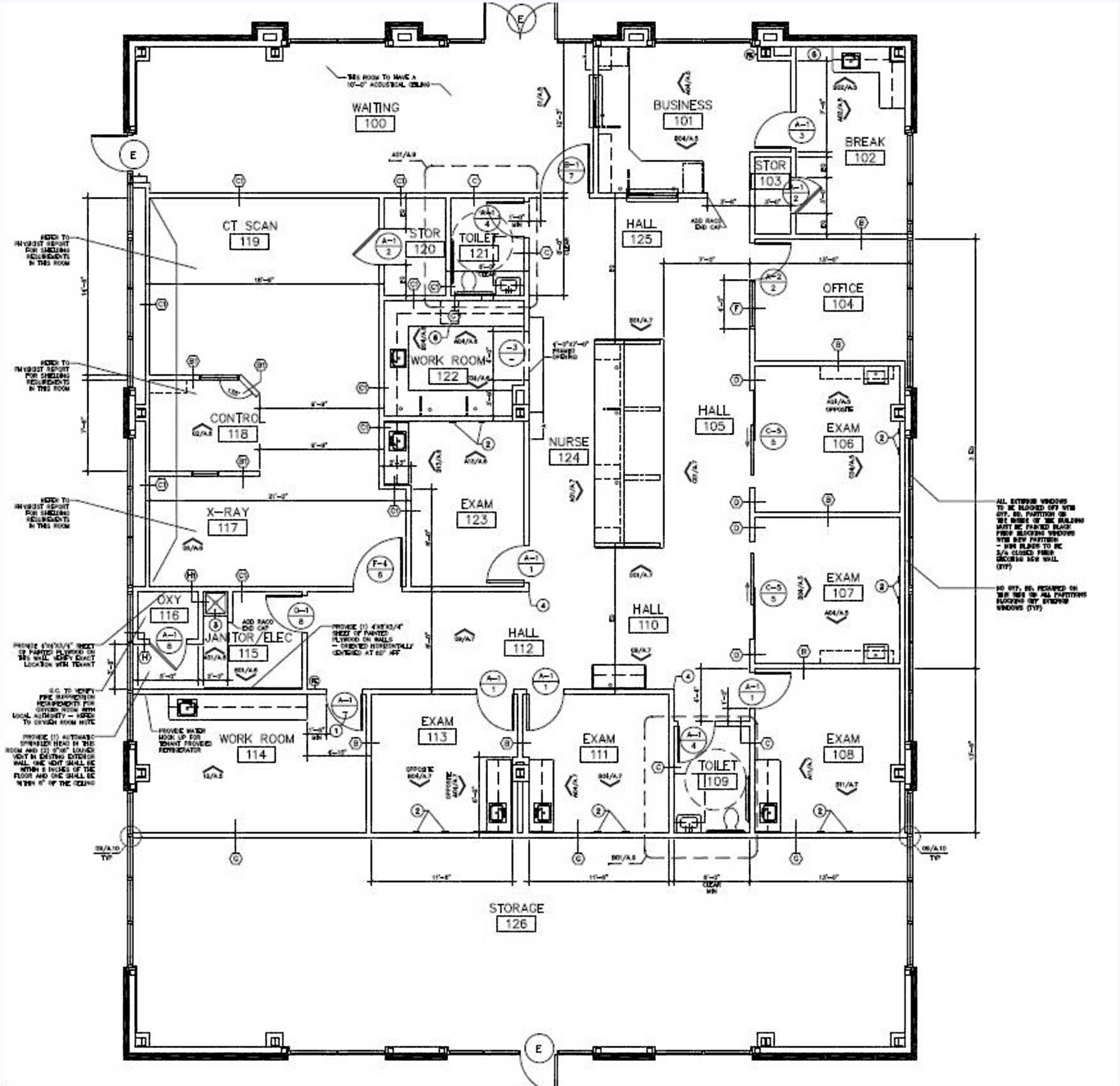 Freestanding Medical Office Building - Fort Worth: site plan