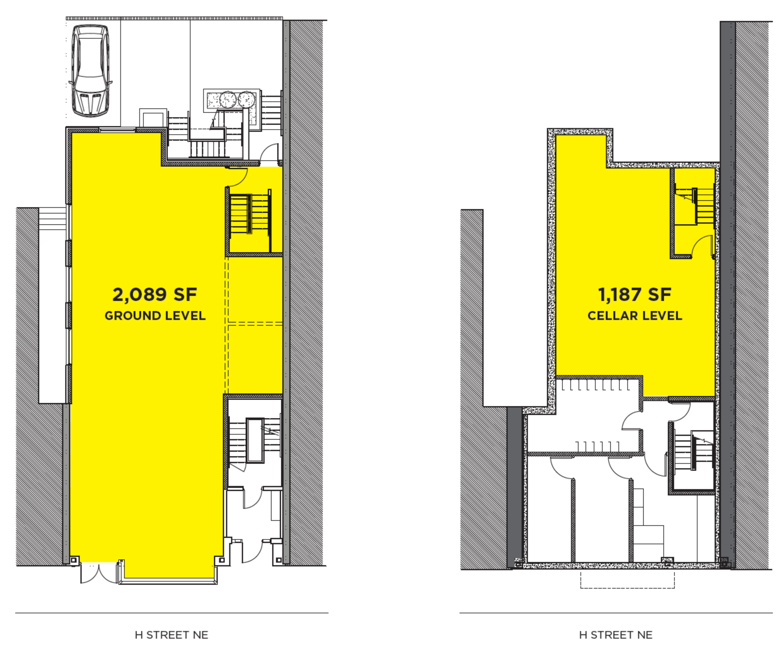 The Aldea on H Street: site plan