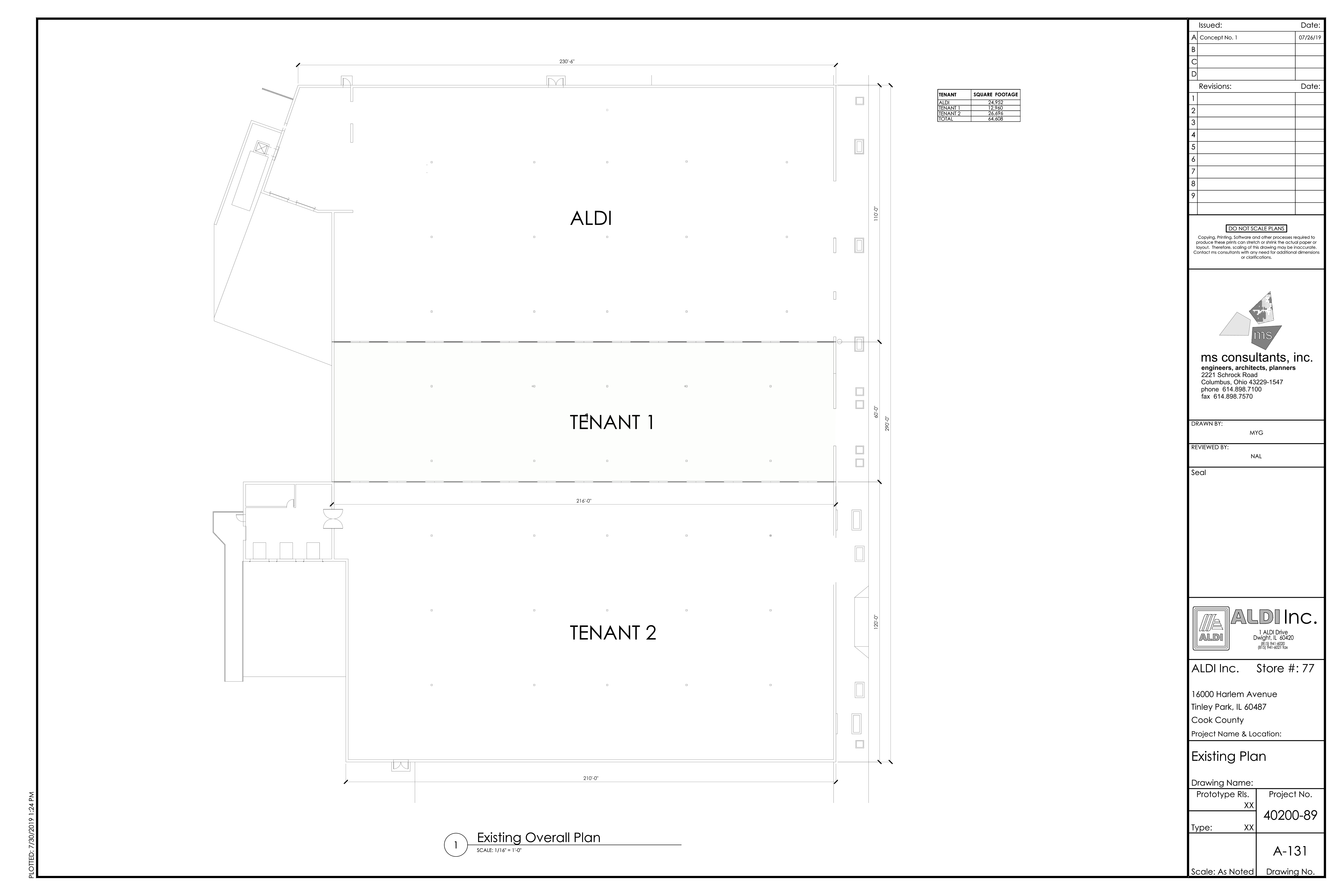 ±12,960 SF AVAILABLE: site plan