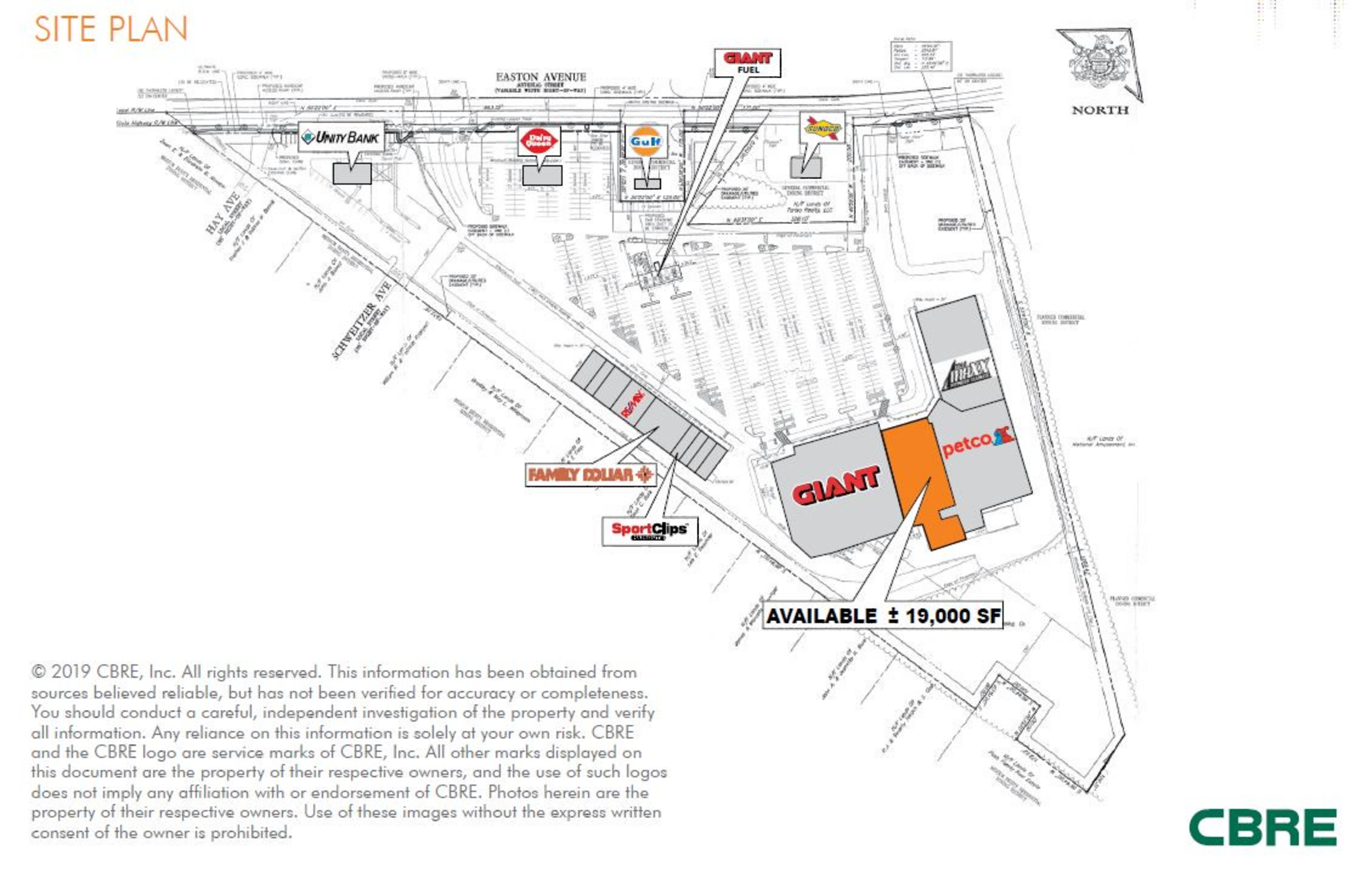 2918 Easton Avenue: site plan