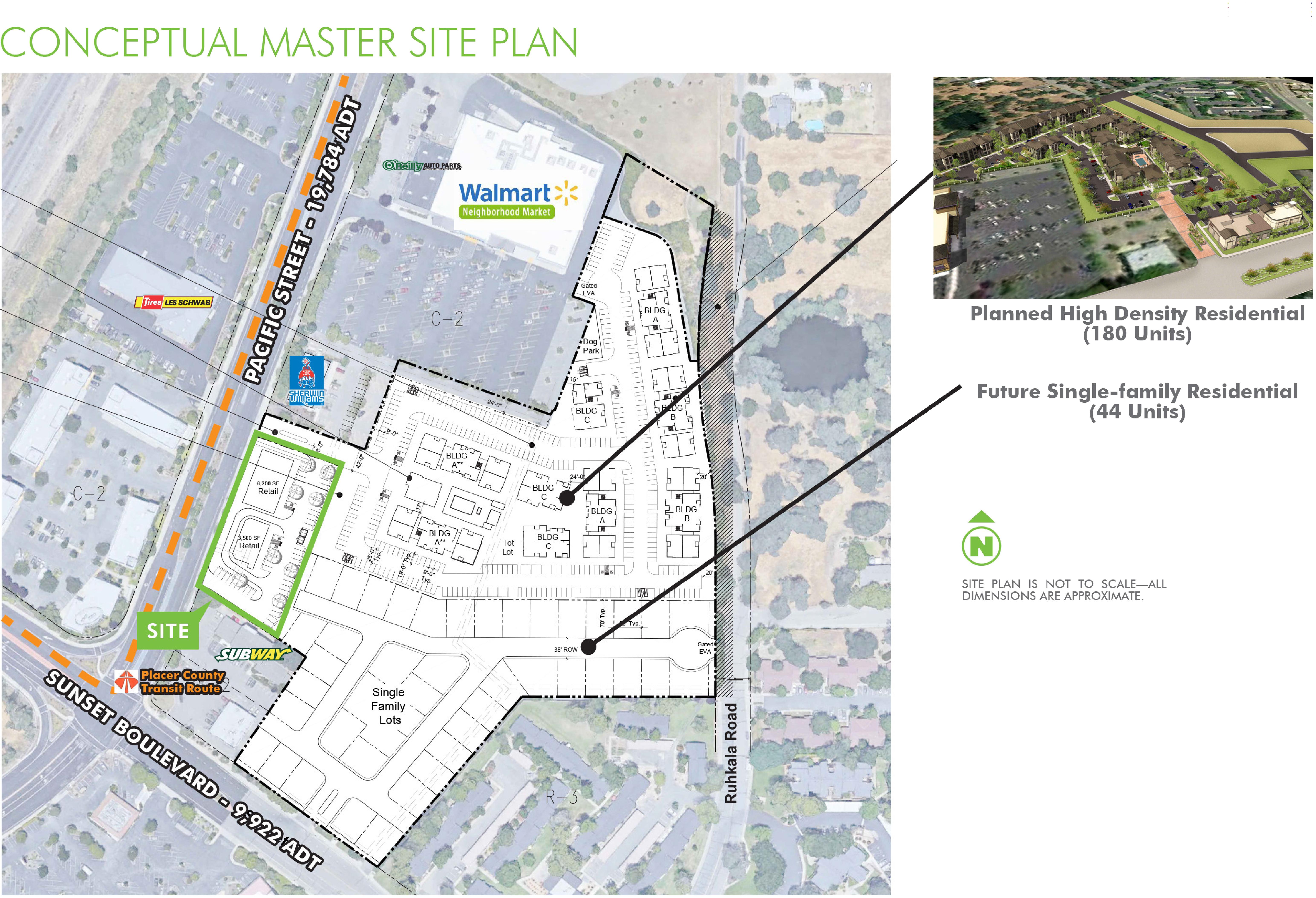 Quarry Place: site plan